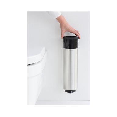 Toalettborsthållare Profile vägg Matt Steel