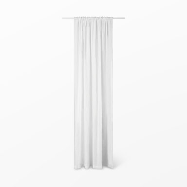 Gardin Linn med veckband 140×300 cm