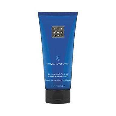 Samurai Cool Down Shampoo & Shower Gel 200 ml