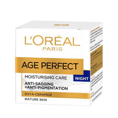 Age Perfect Moisturising Night Care Anti-Sagging + Anti-Pigmentation 50 ml