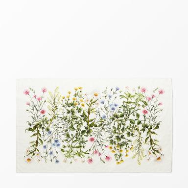 Bordsduk blommig, 135x220 cm