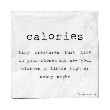 Servett Paper Napkin Calories…