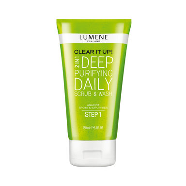 Clear It Up! 2in1 Deep Purifying Daily Scrub & Wash 150 ml
