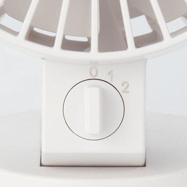 USB Desk Fan – White