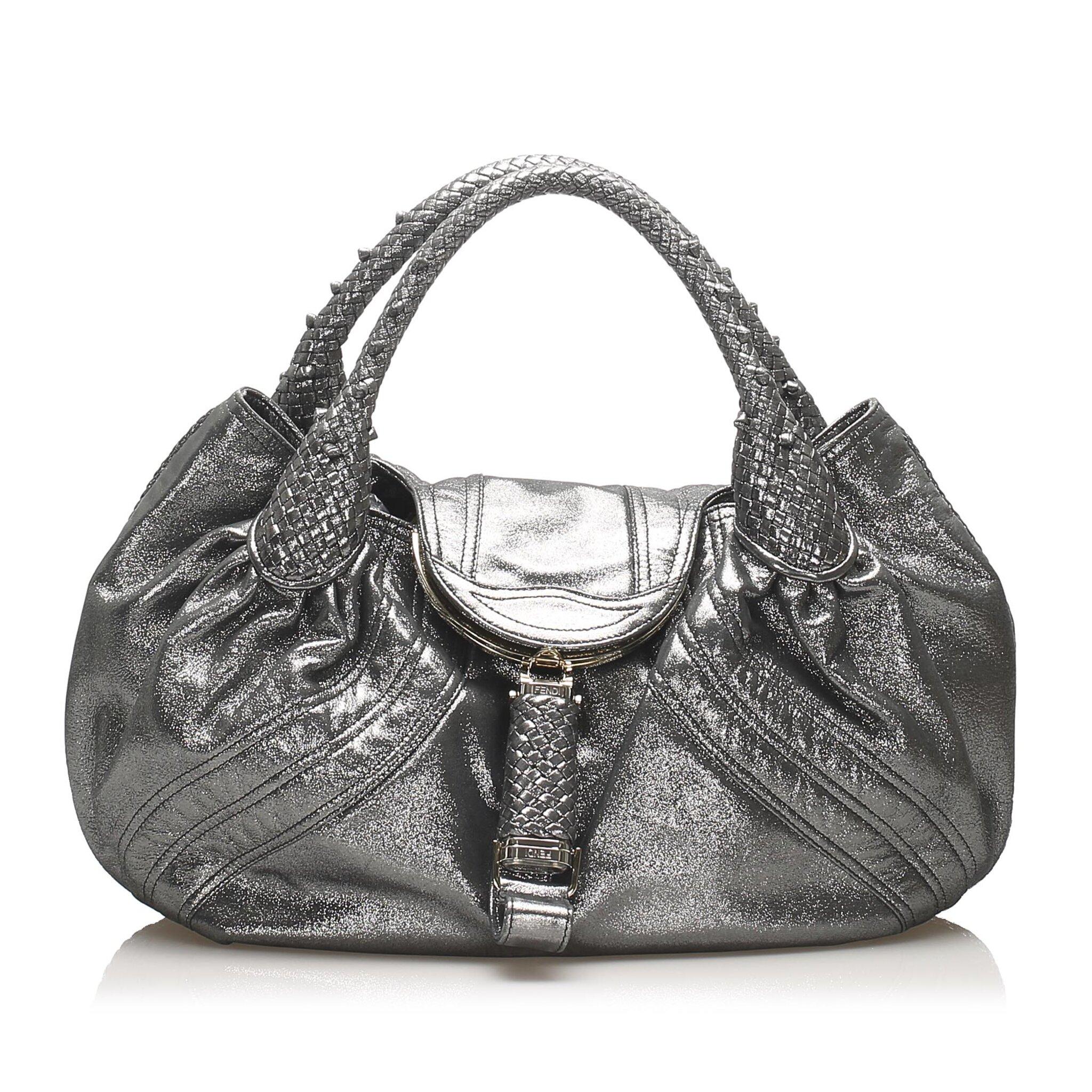 Fendi Spy Leather Shoulder Bag