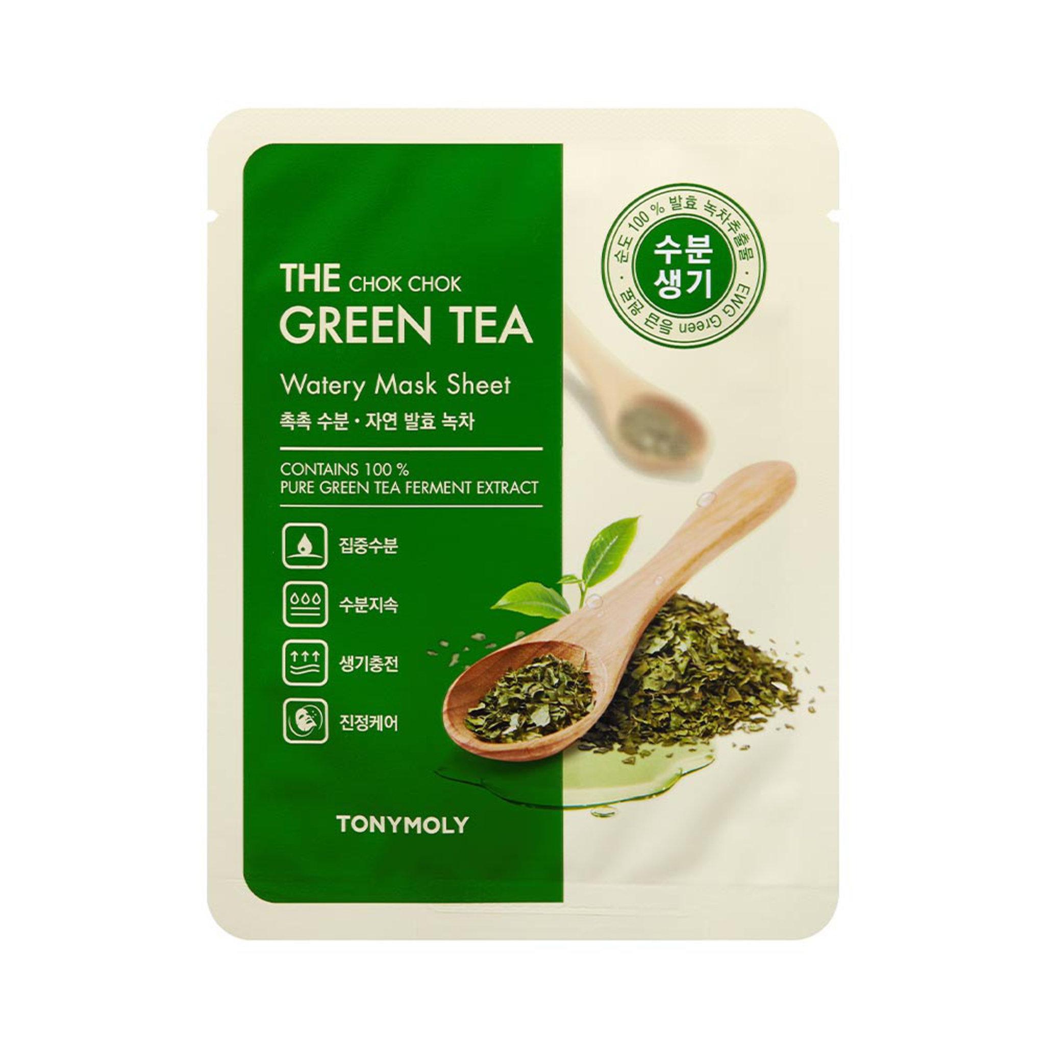 The Chock Chok Green Tea Watery Mask Sheet