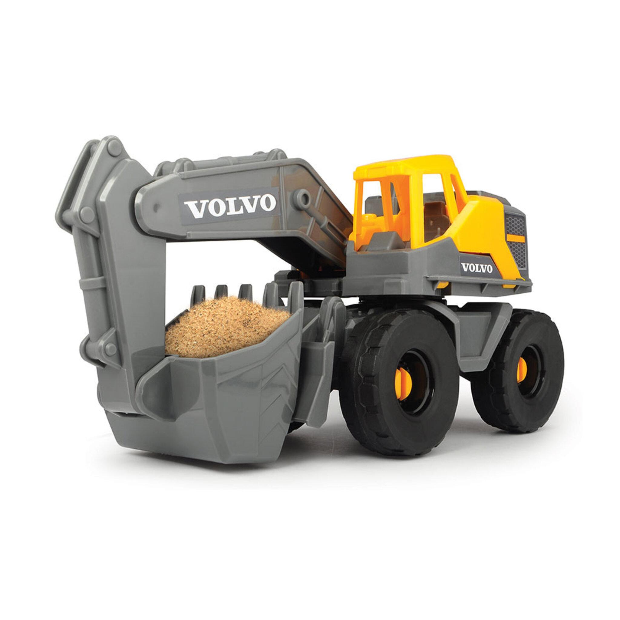 Grävmaskin i Volvomodell