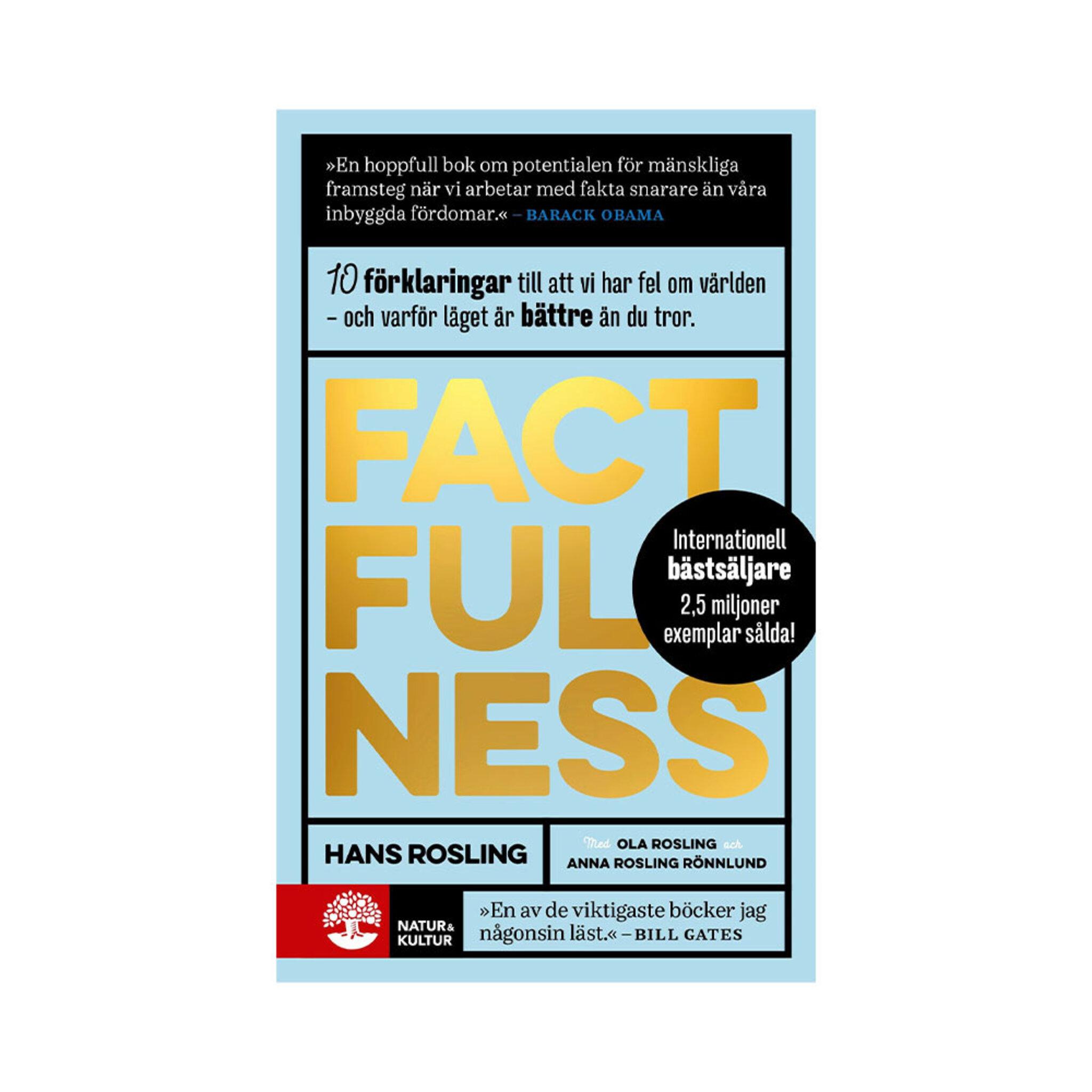 Factfulness: tio knep som hjälper dig förstå världen