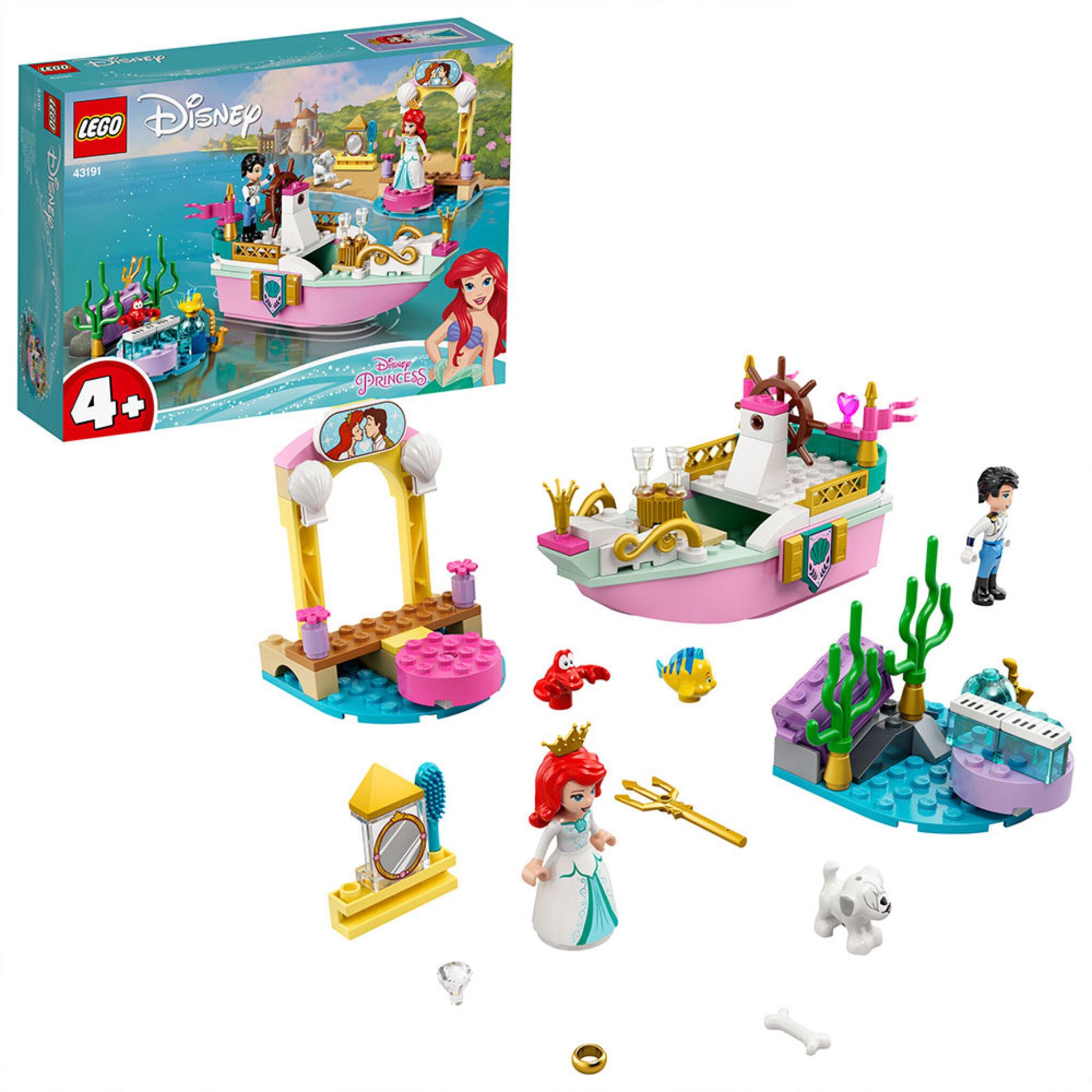 43191 Disney Princess Ariels festbåt