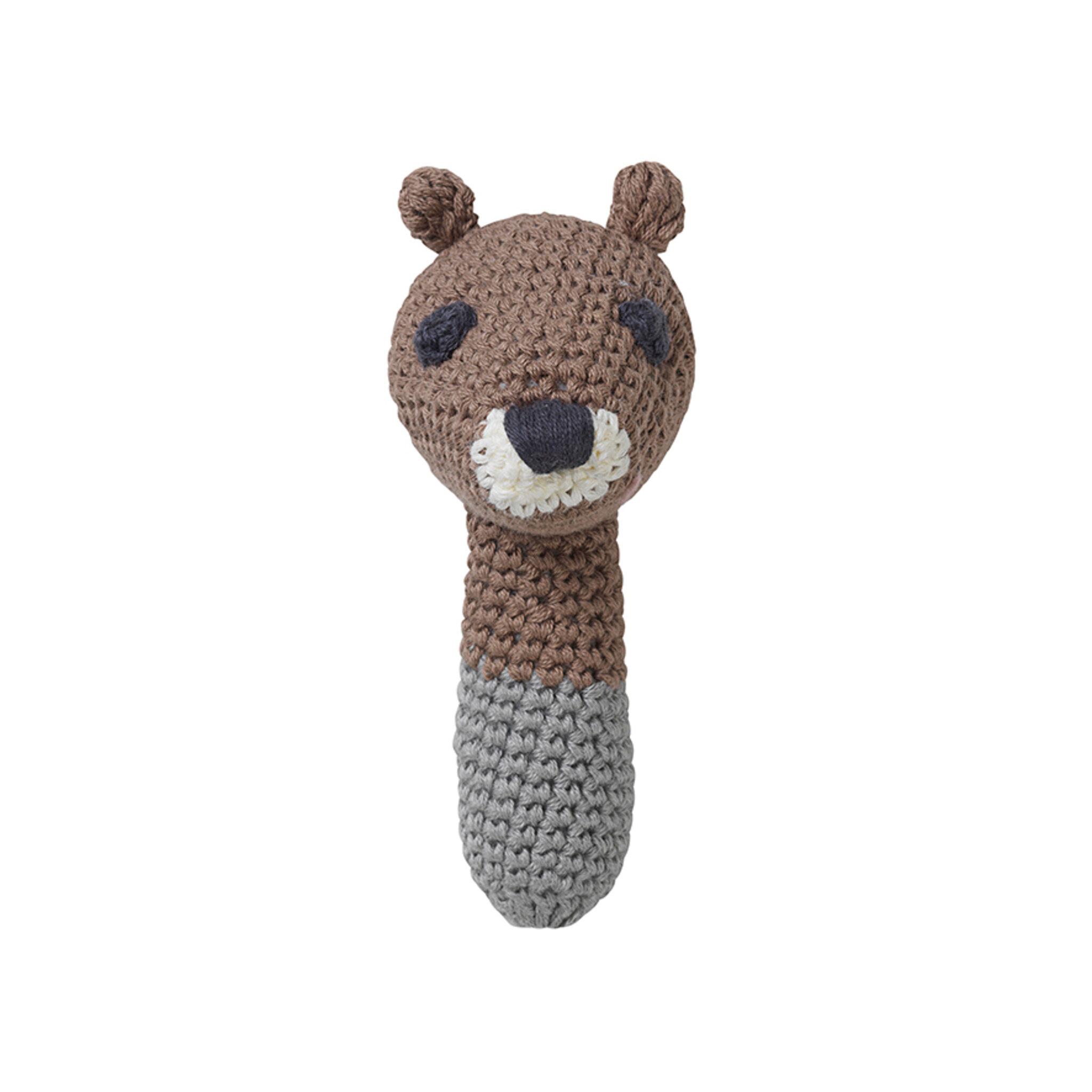 Sarah Brown Squirrel Skallra