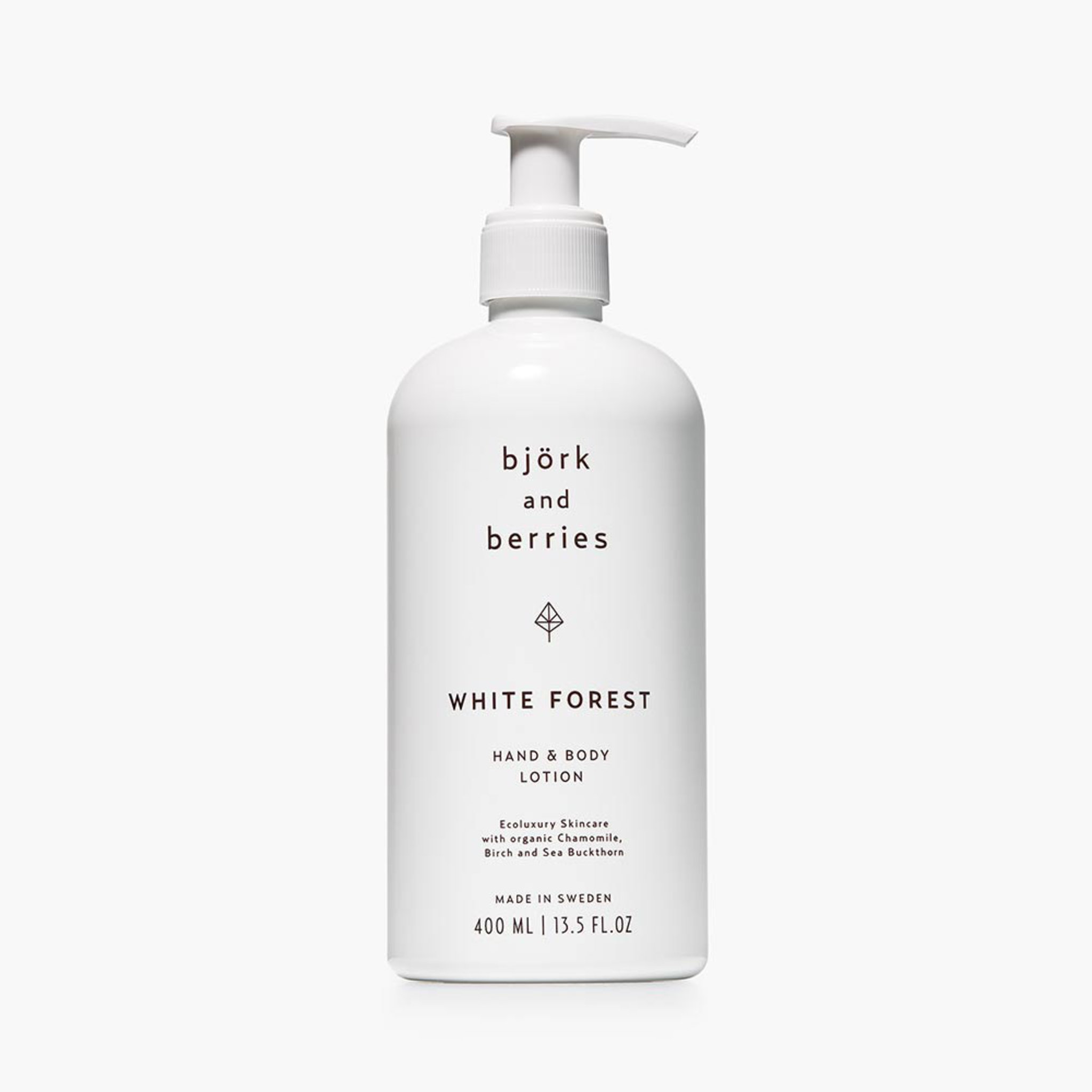 White Forest Hand & Body Lotion, 400 ml