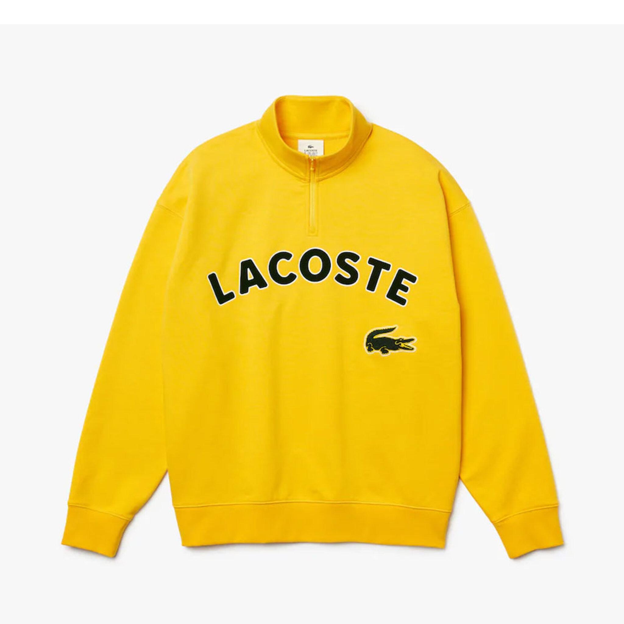 Branded Cotton Fleece Sweatshirt