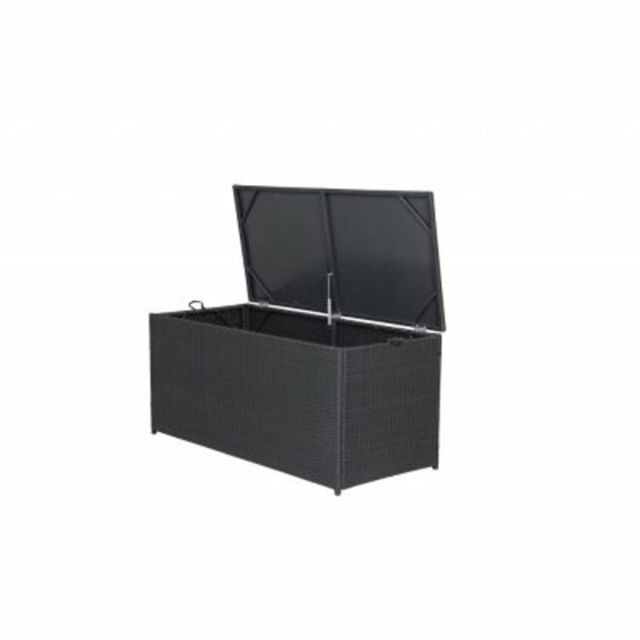 Dynbox London 130x60 cm, svart