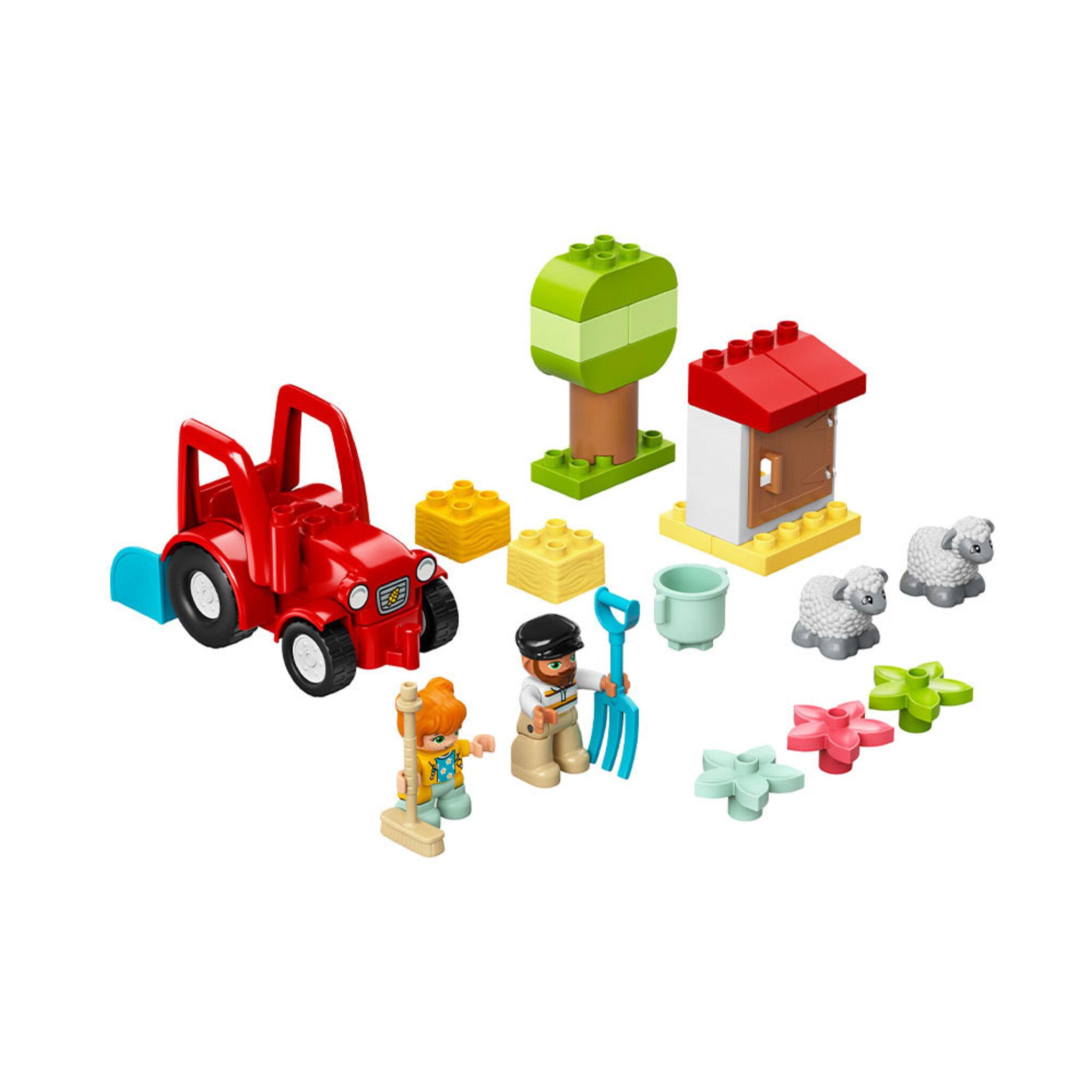 10950 DUPLO Town Traktor och djurskötsel
