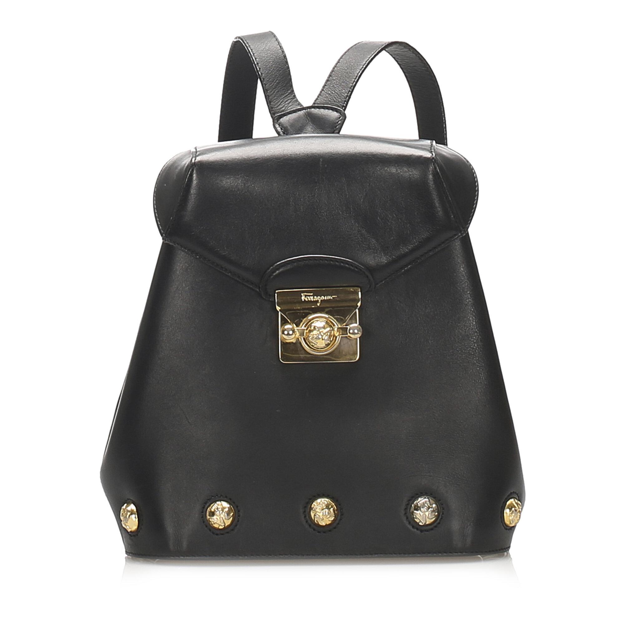 Ferragamo Leather Crossbody Bag