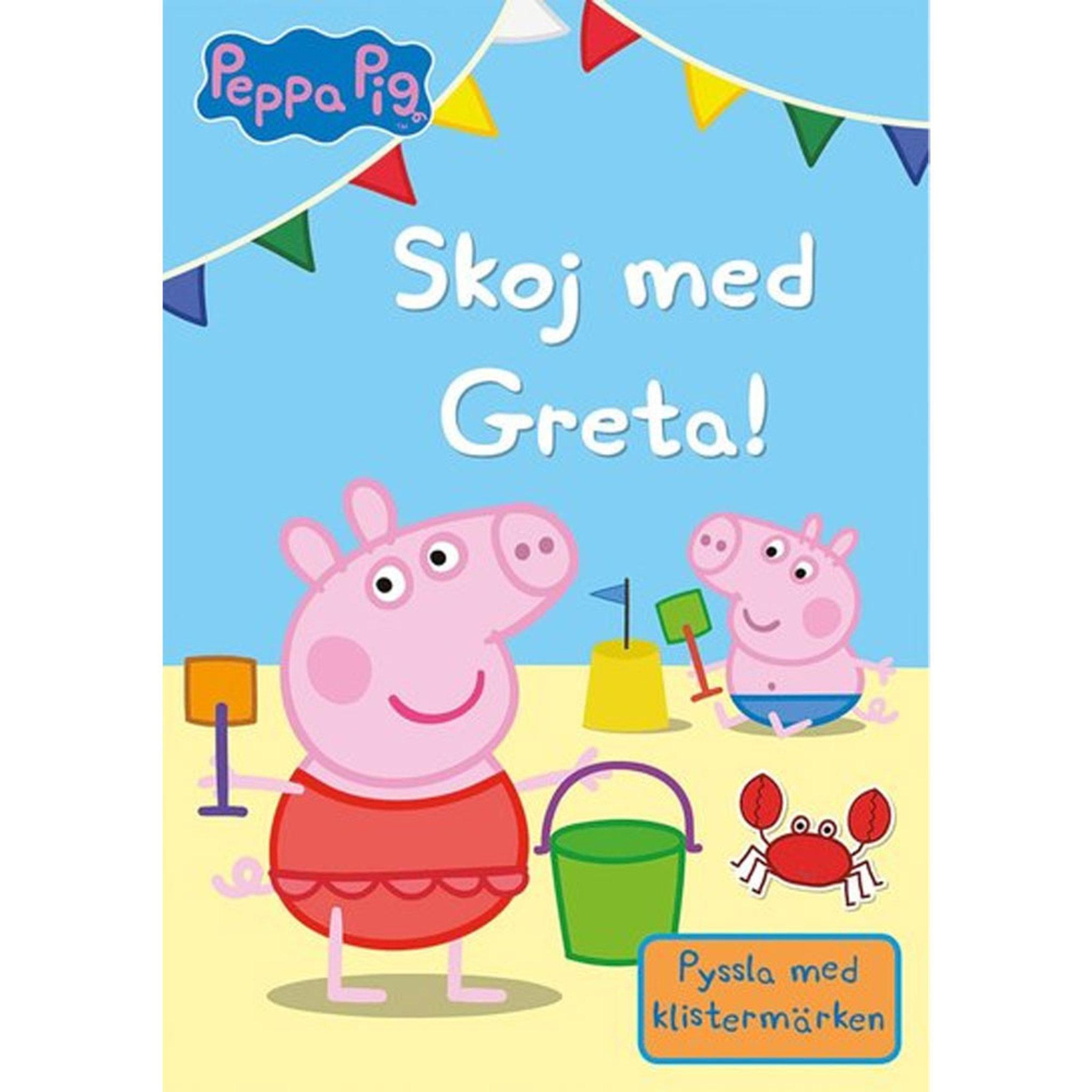 Pysselbok - Skoj med Greta!