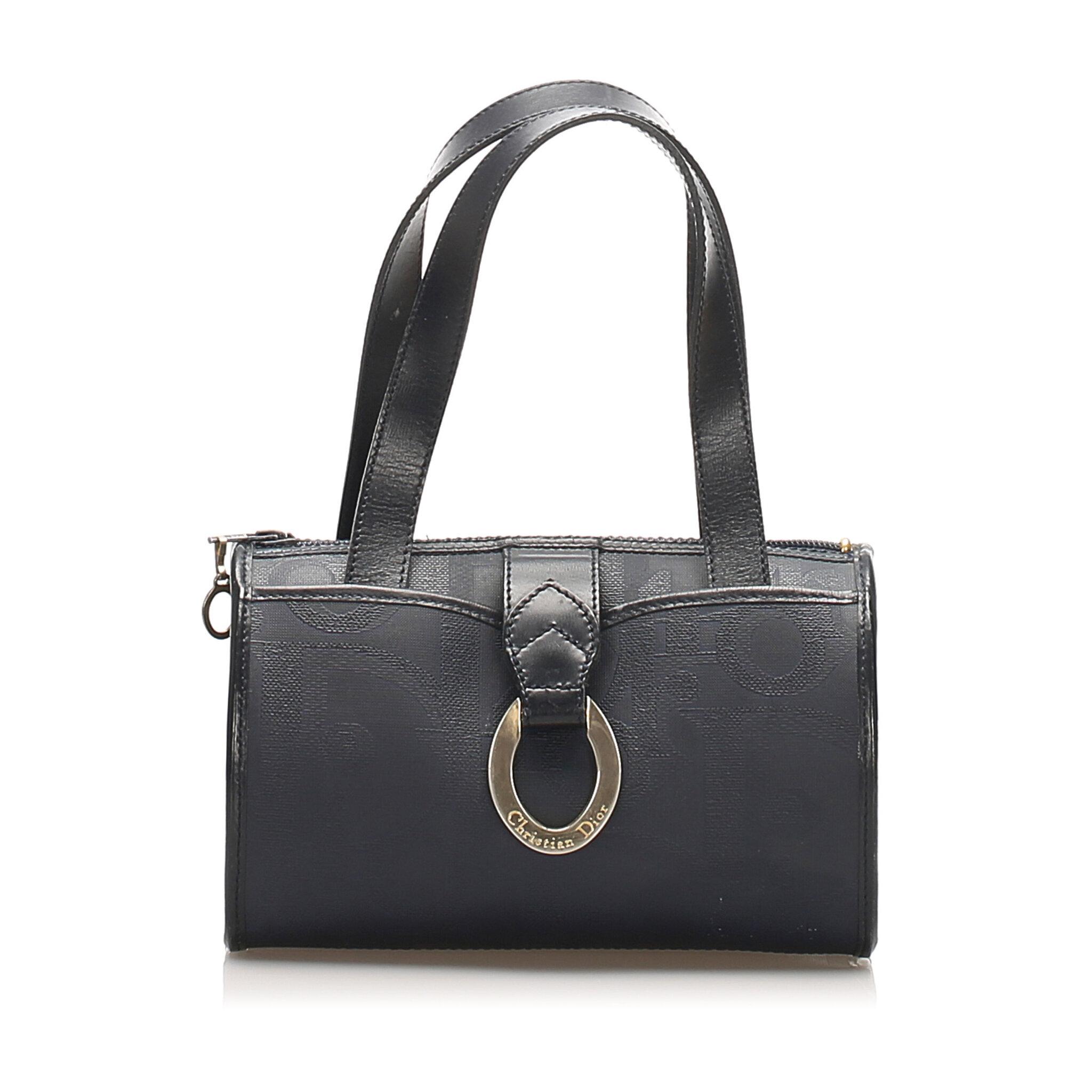 Dior Dior Oblique Pvc Handbag