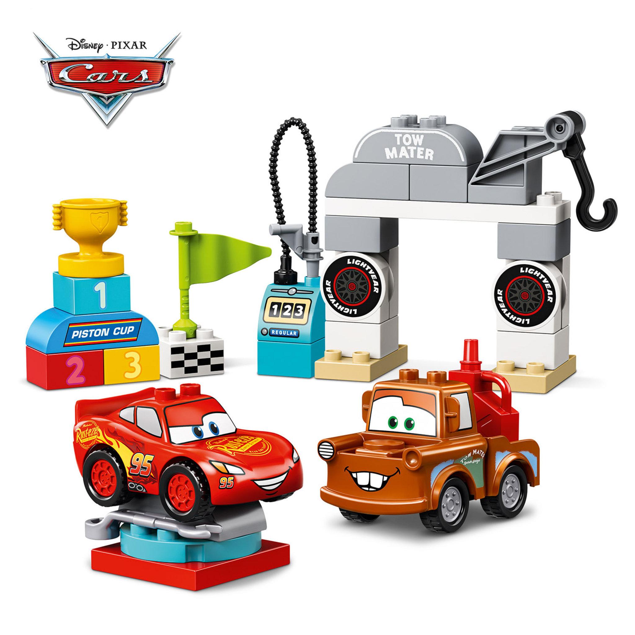 10924 DUPLO® Cars — Blixten McQueens tävlingsdag