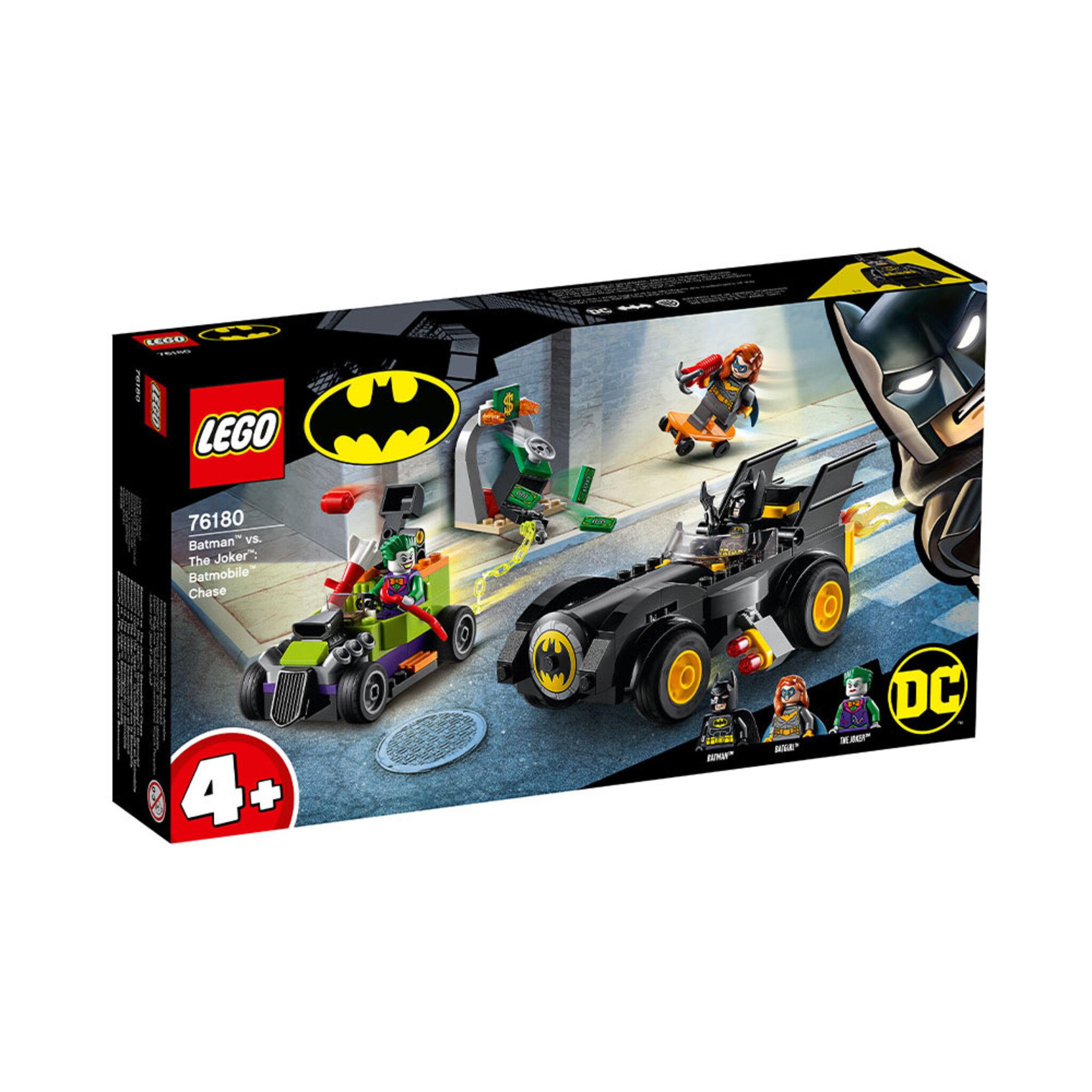 76180 Batman™ mot Jokern: Batmobilejakt