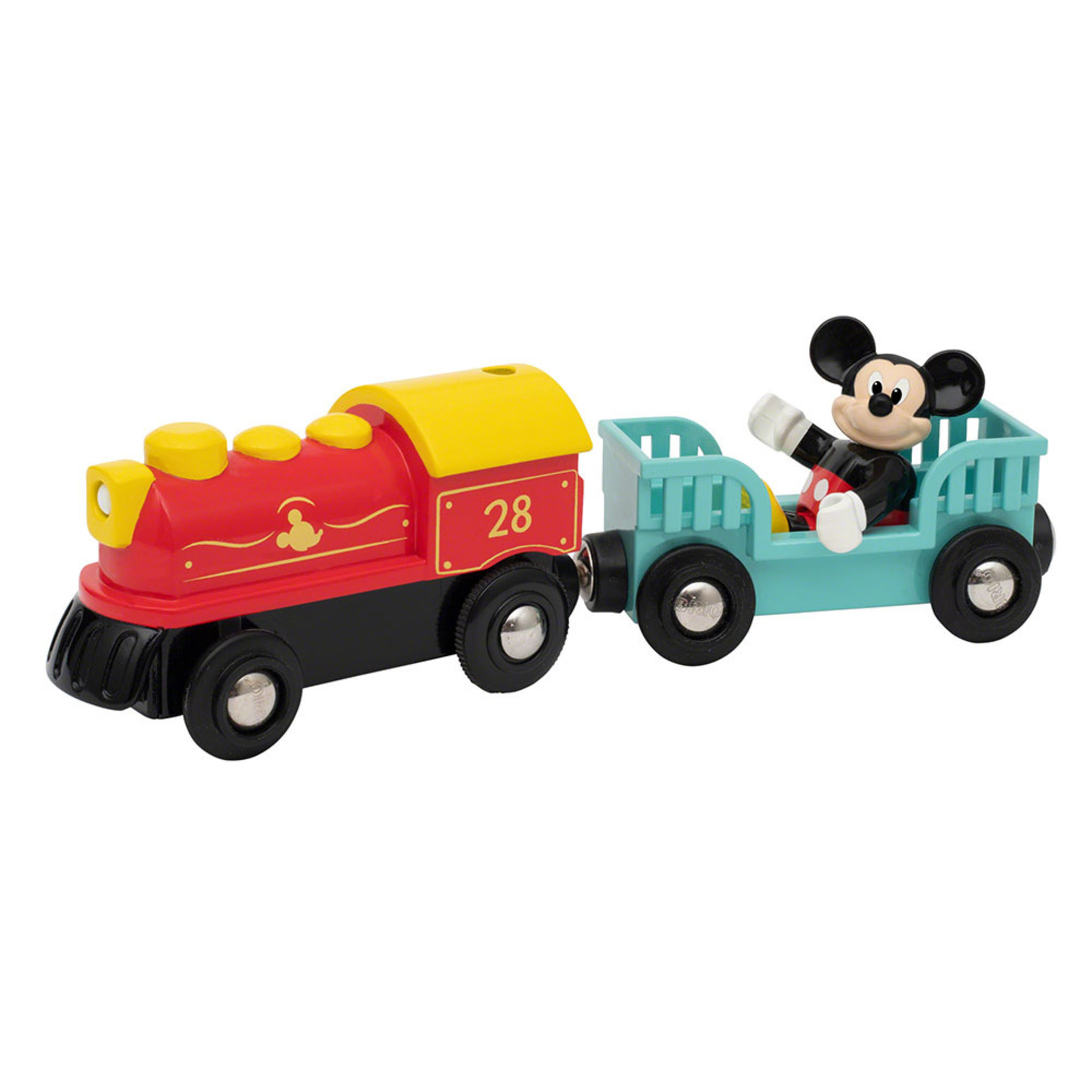 Mickey Mouse Battery Train