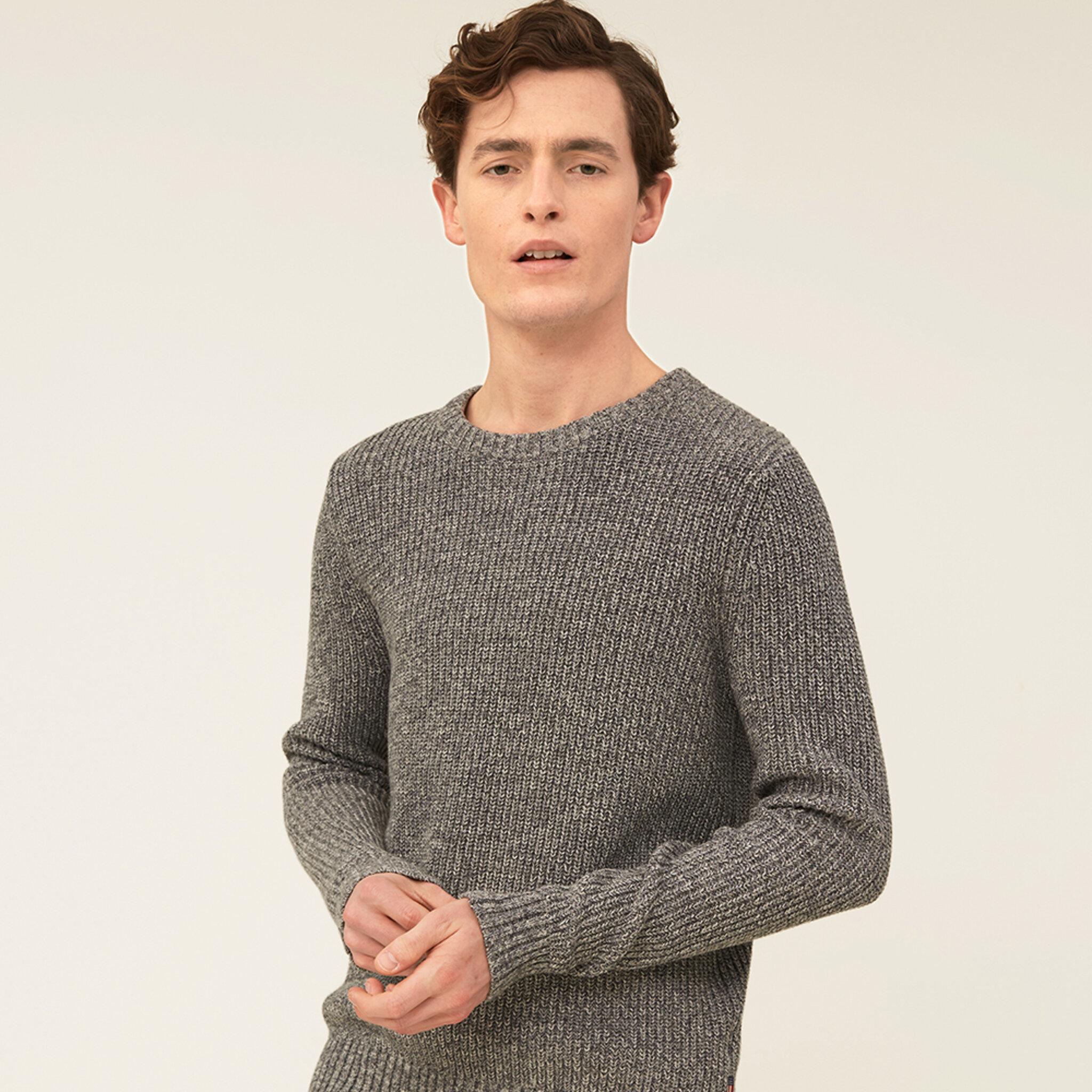 Claude Organic Cotton Twisted Yarn Sweater