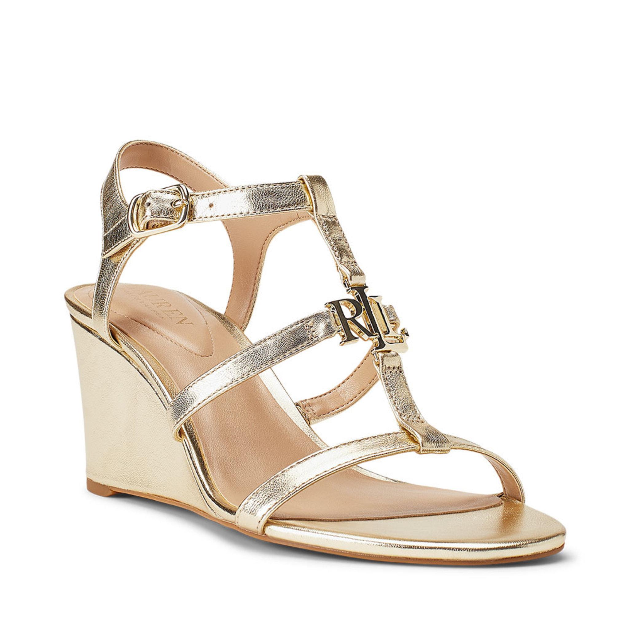 Charlton Metallic Wedge Sandal