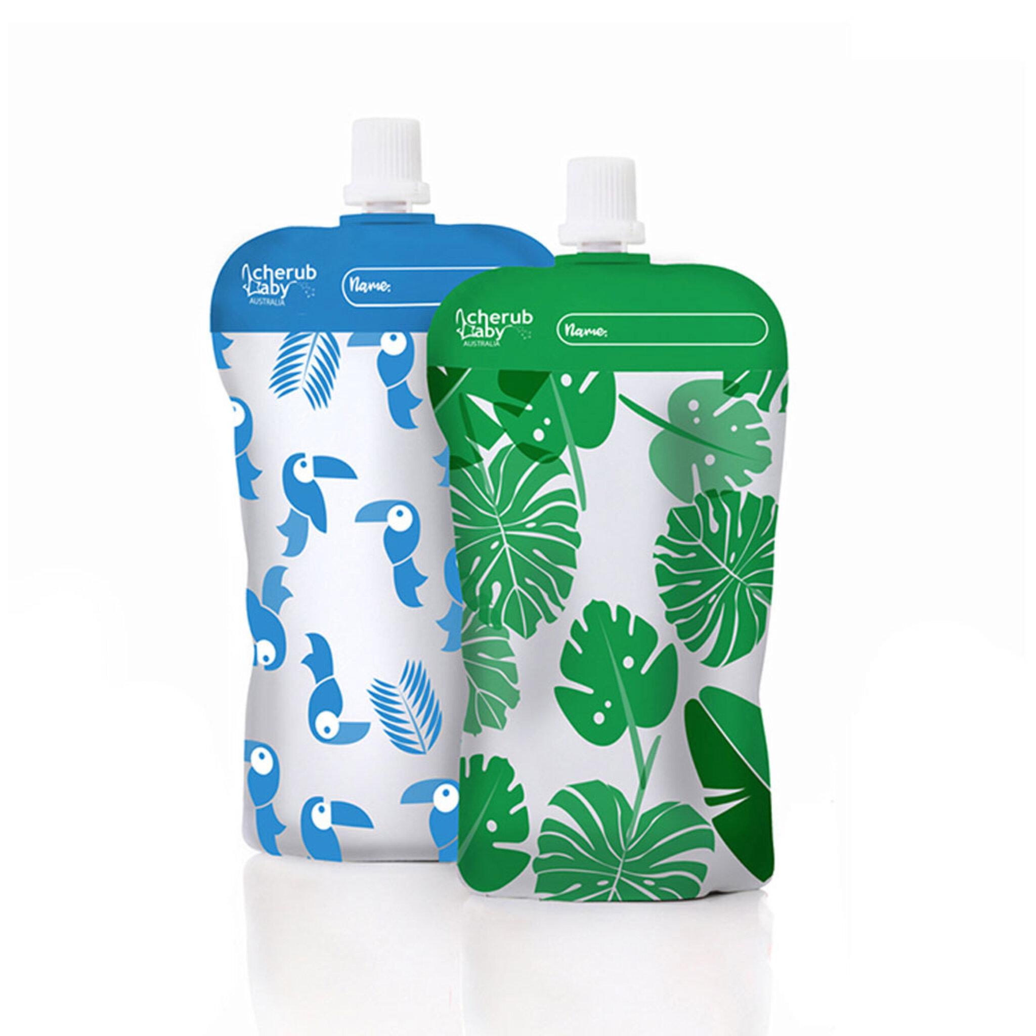 Matpåsar Mini - Blå/Grön 10-pack