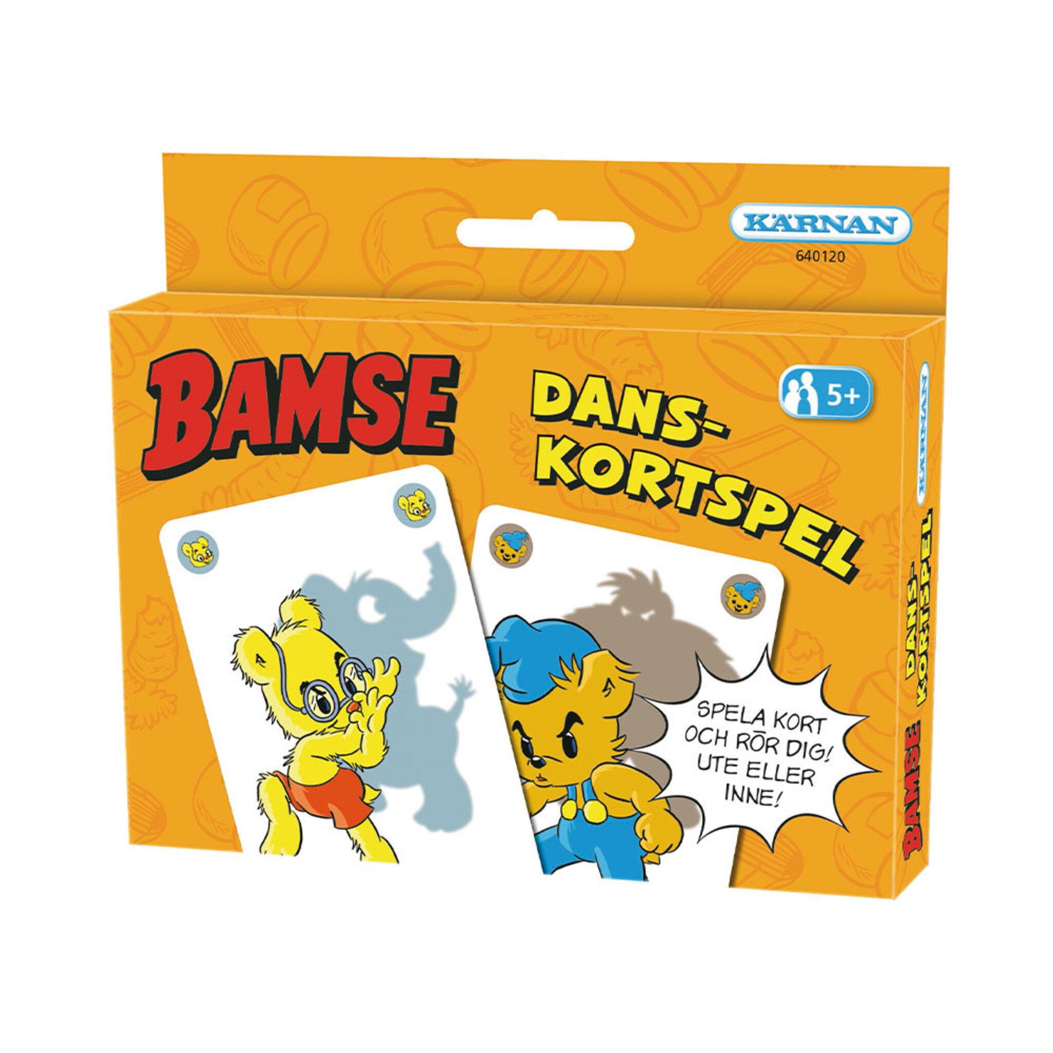 Kortspel, Bamse Danskortspel