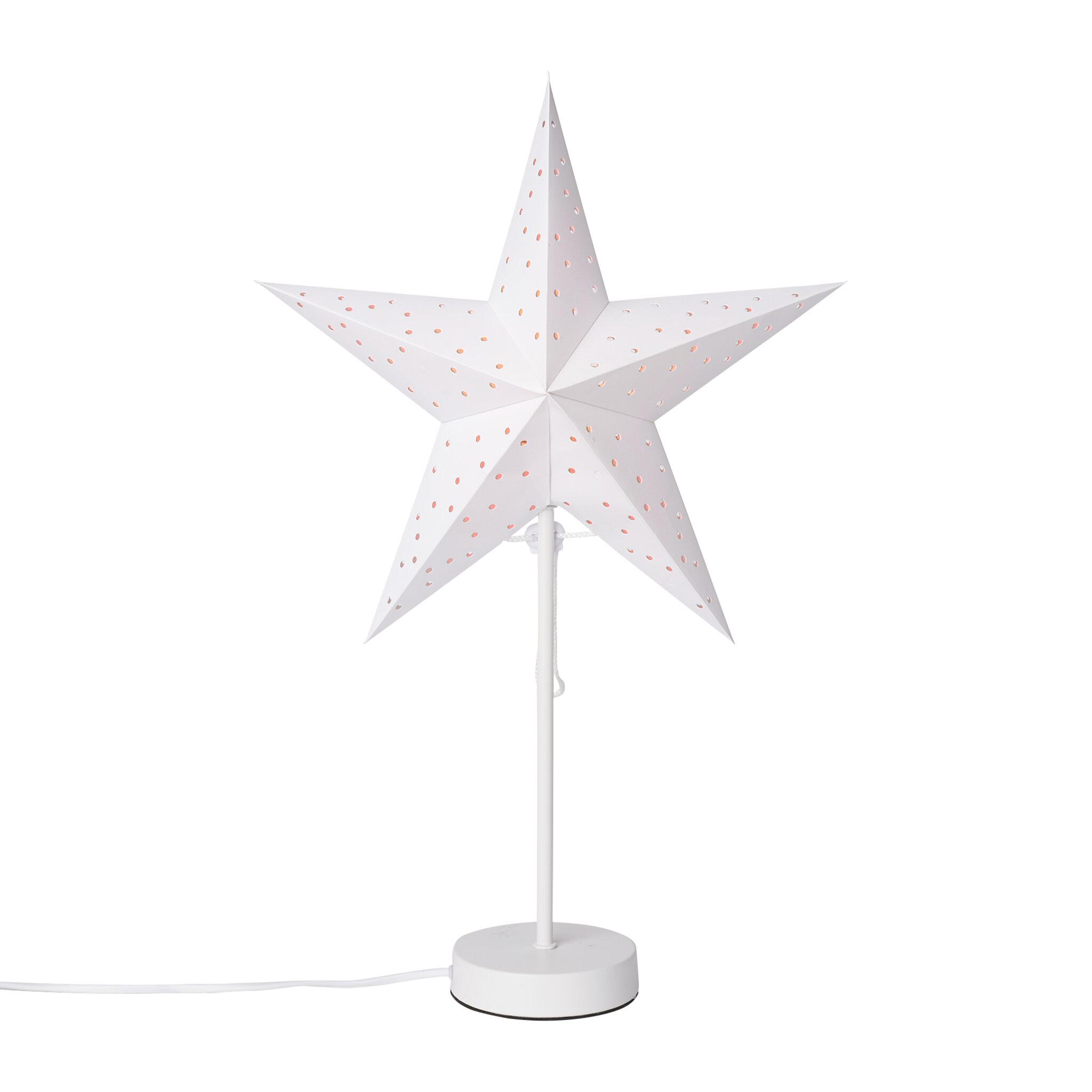 Papperstjärna på fot 35 cm