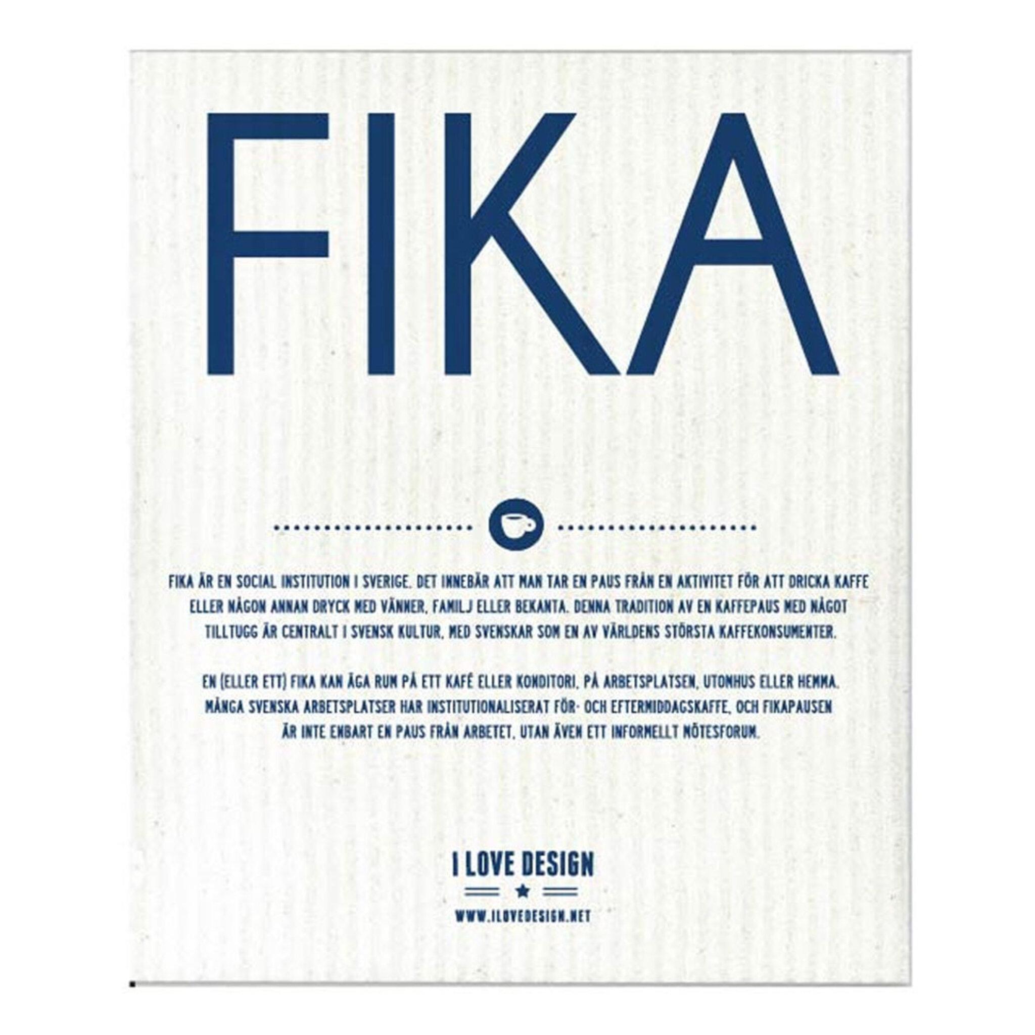 Disktrasa – FIKA, 18x20 cm