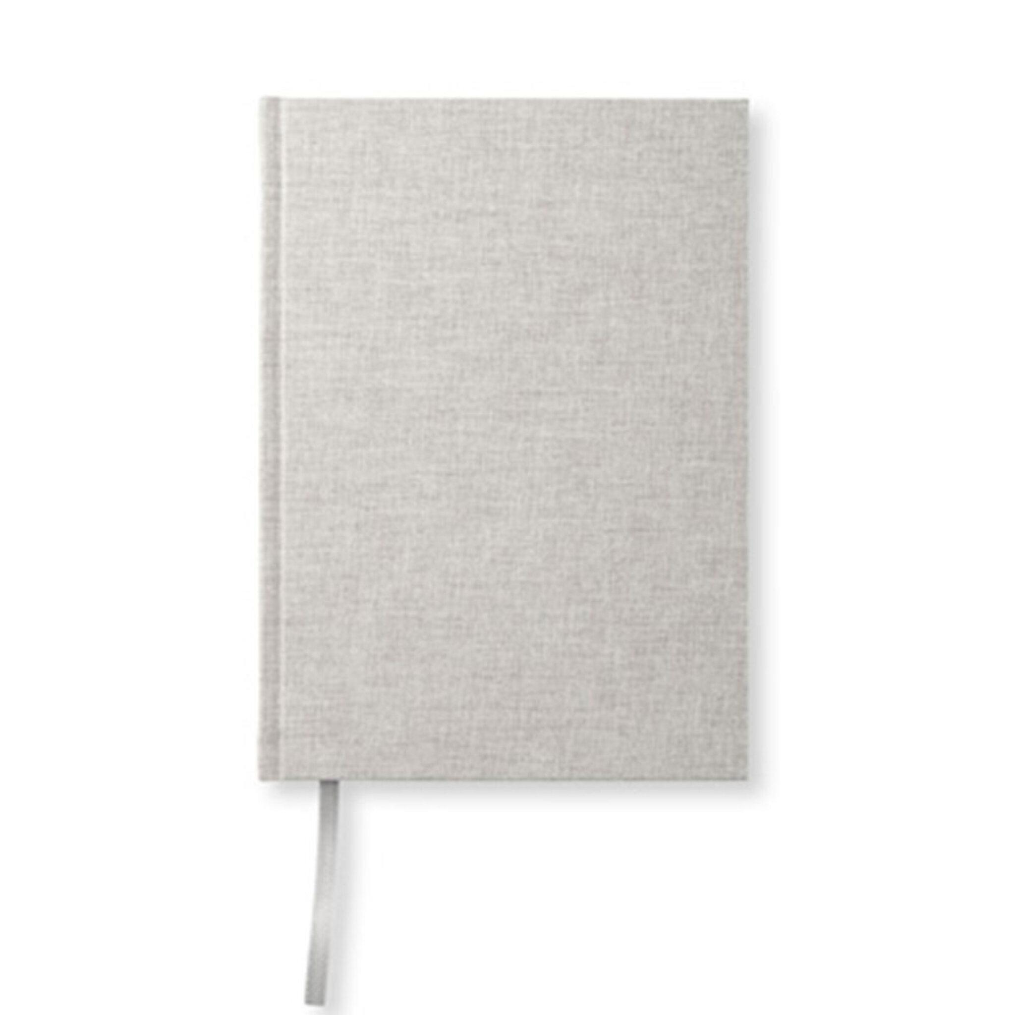 Anteckningsbok A5, 128 blanka sidor, natur, 21,5X15,5