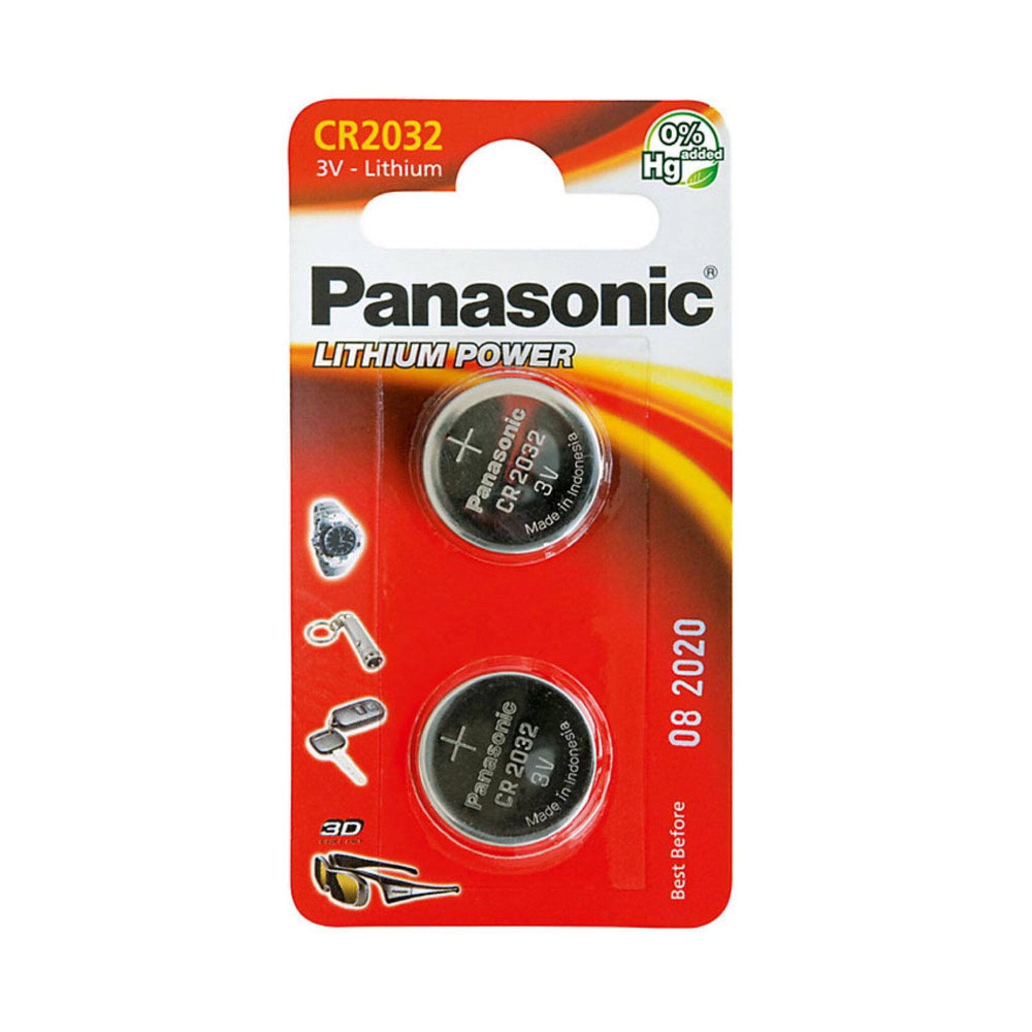 Batteri Micro Alkaline CR2032, 2-pack