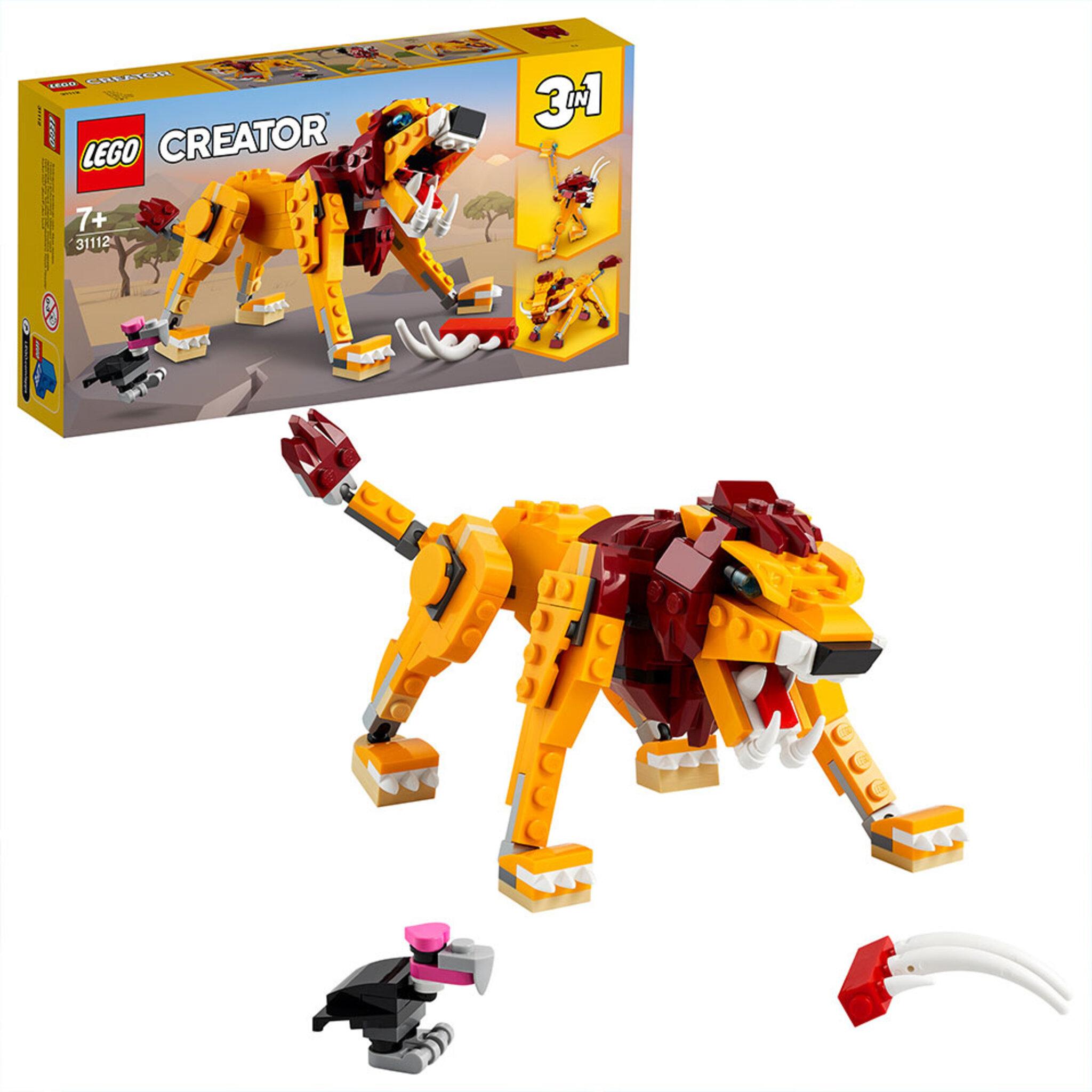 31112 Creator Vilt lejon