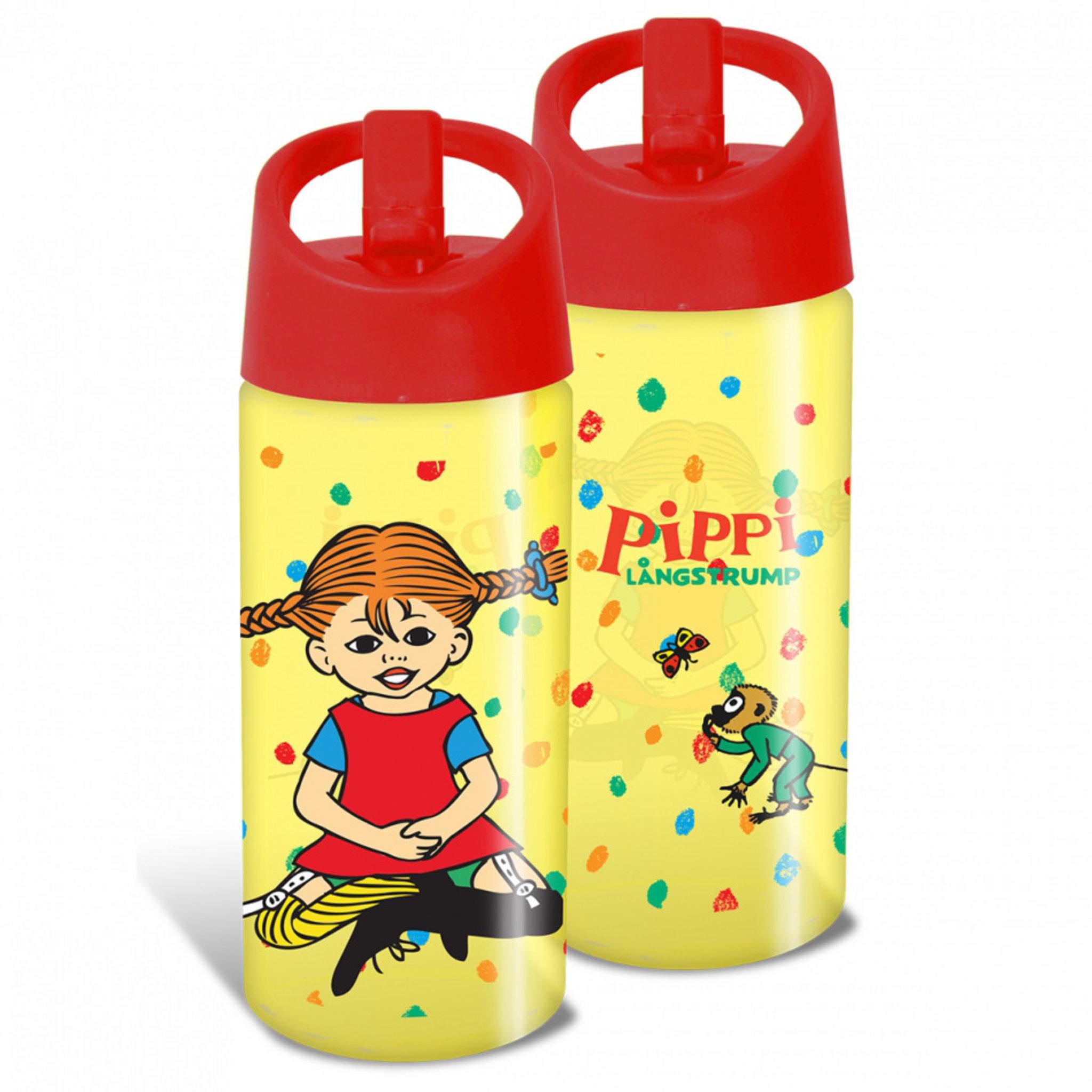 Vattenflaska — Pippi Långstrump 400 ml