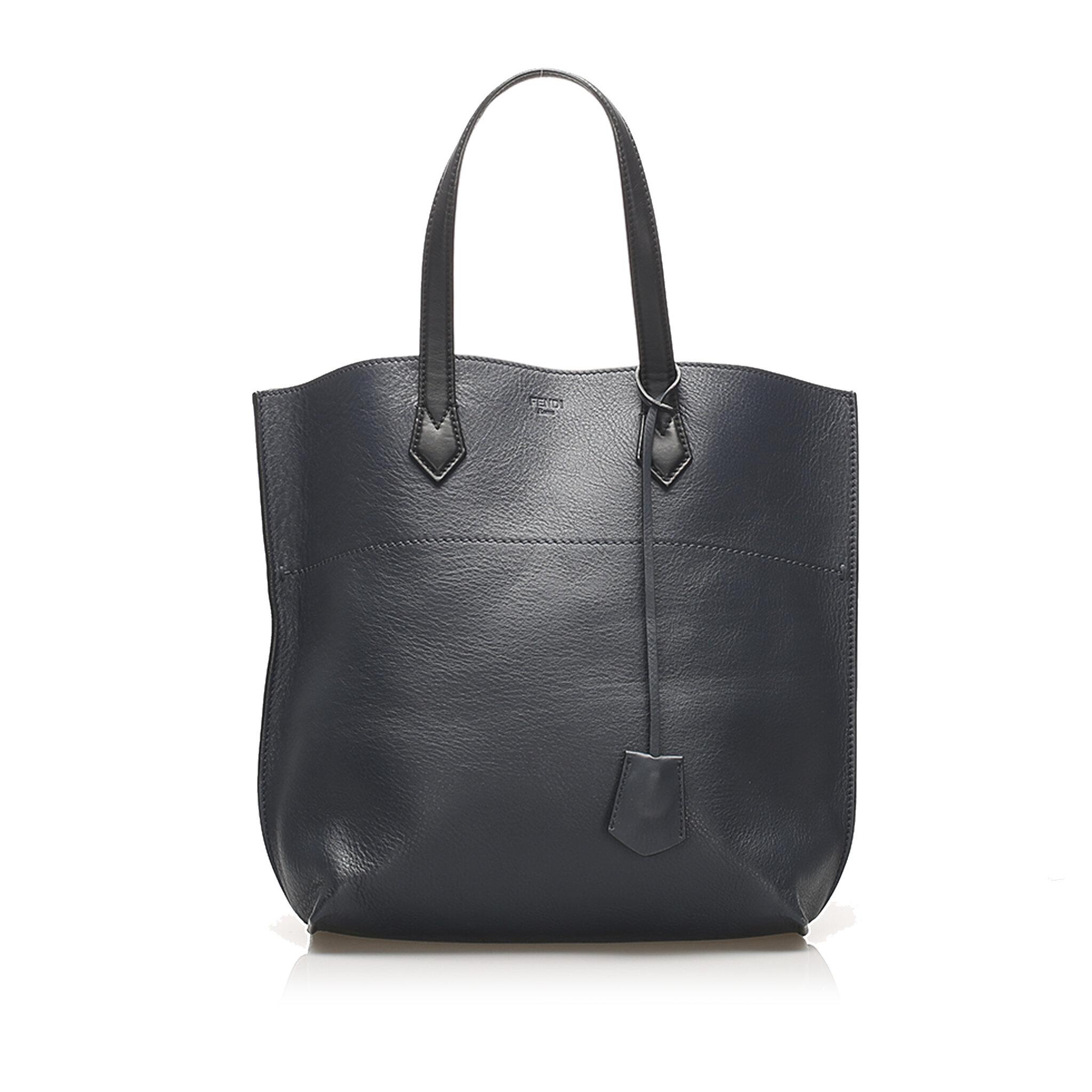 Fendi All Shopper Leather Tote