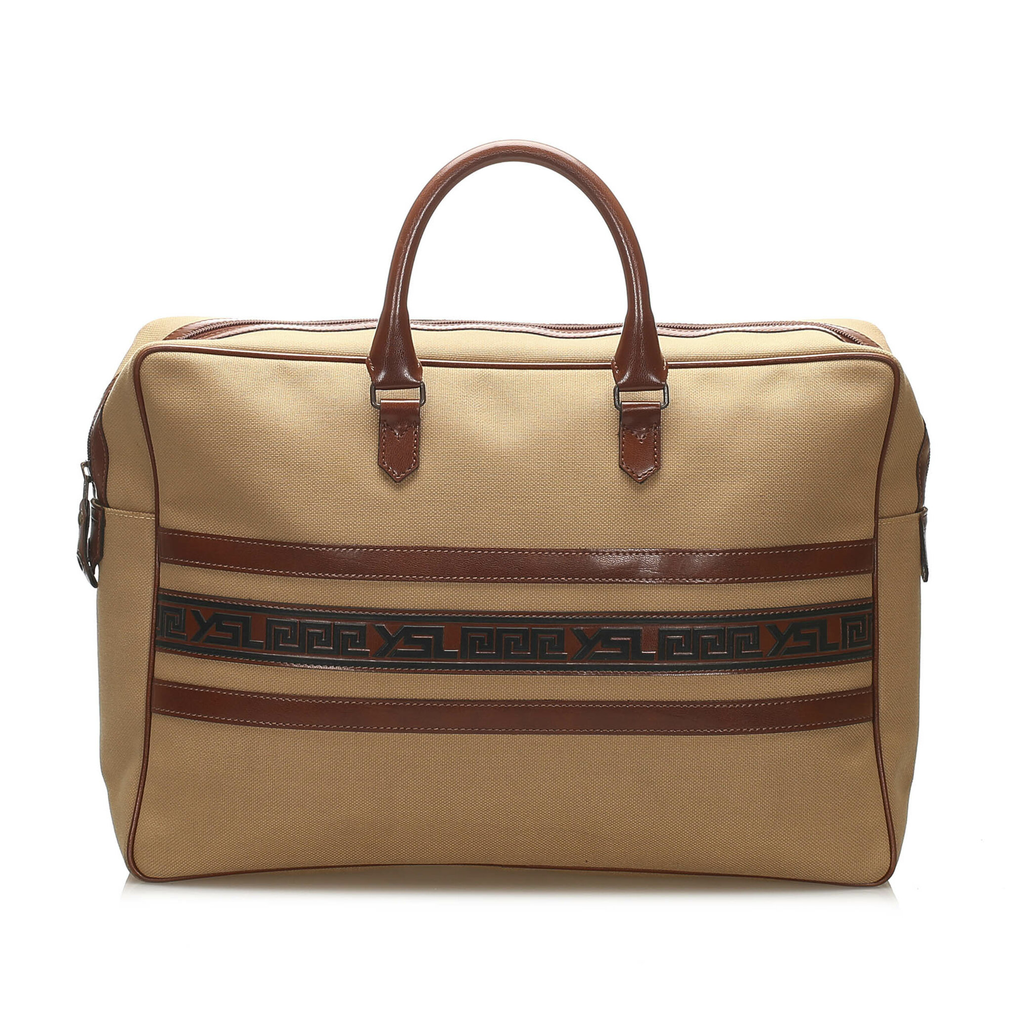Ysl Canvas Business Bag
