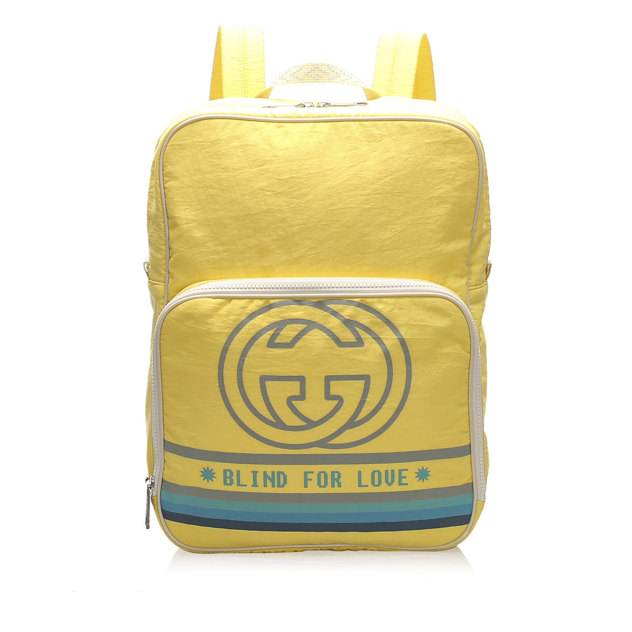 Gucci Blind For Love Nylon Backpack
