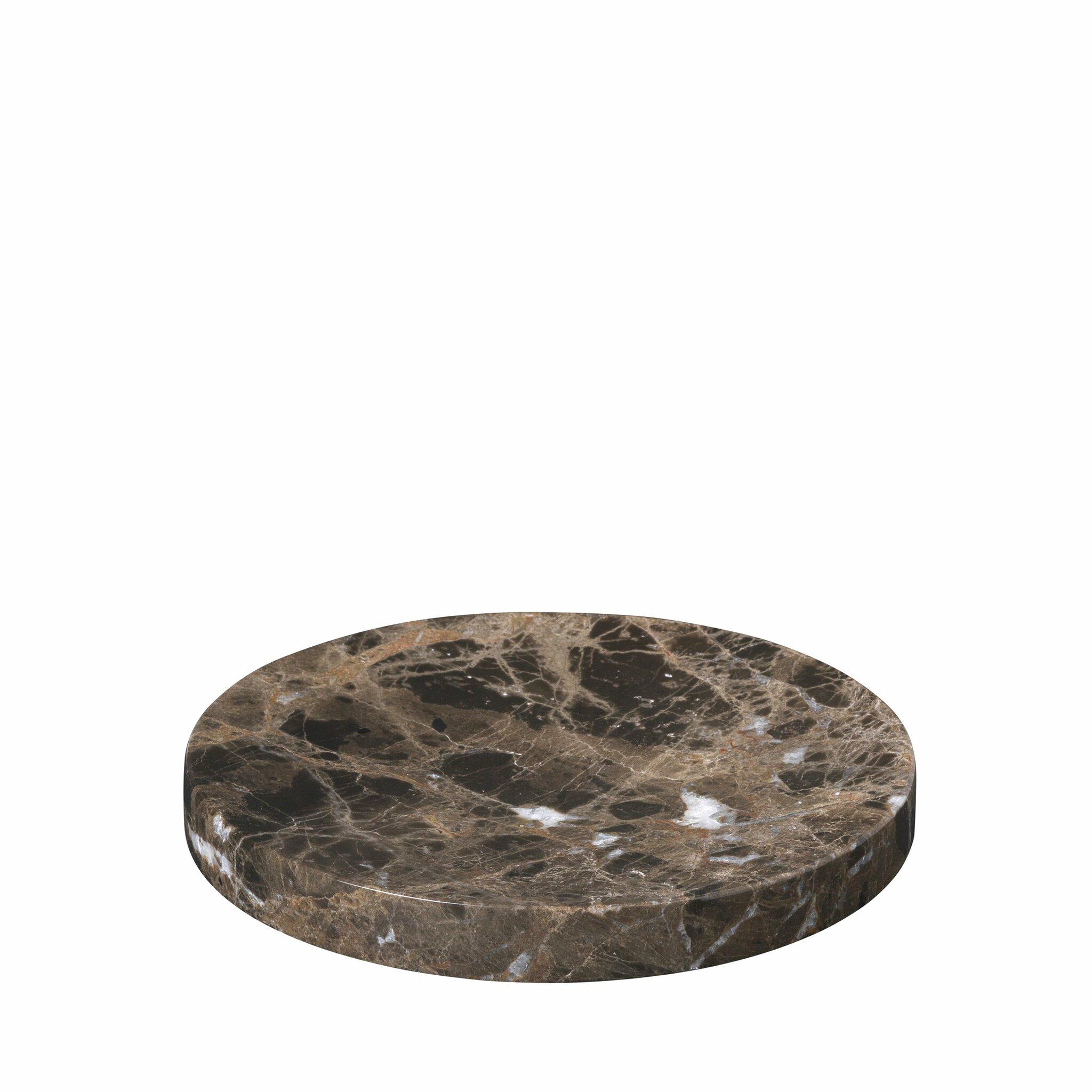 Marmorbricka PESA Ø 19 cm