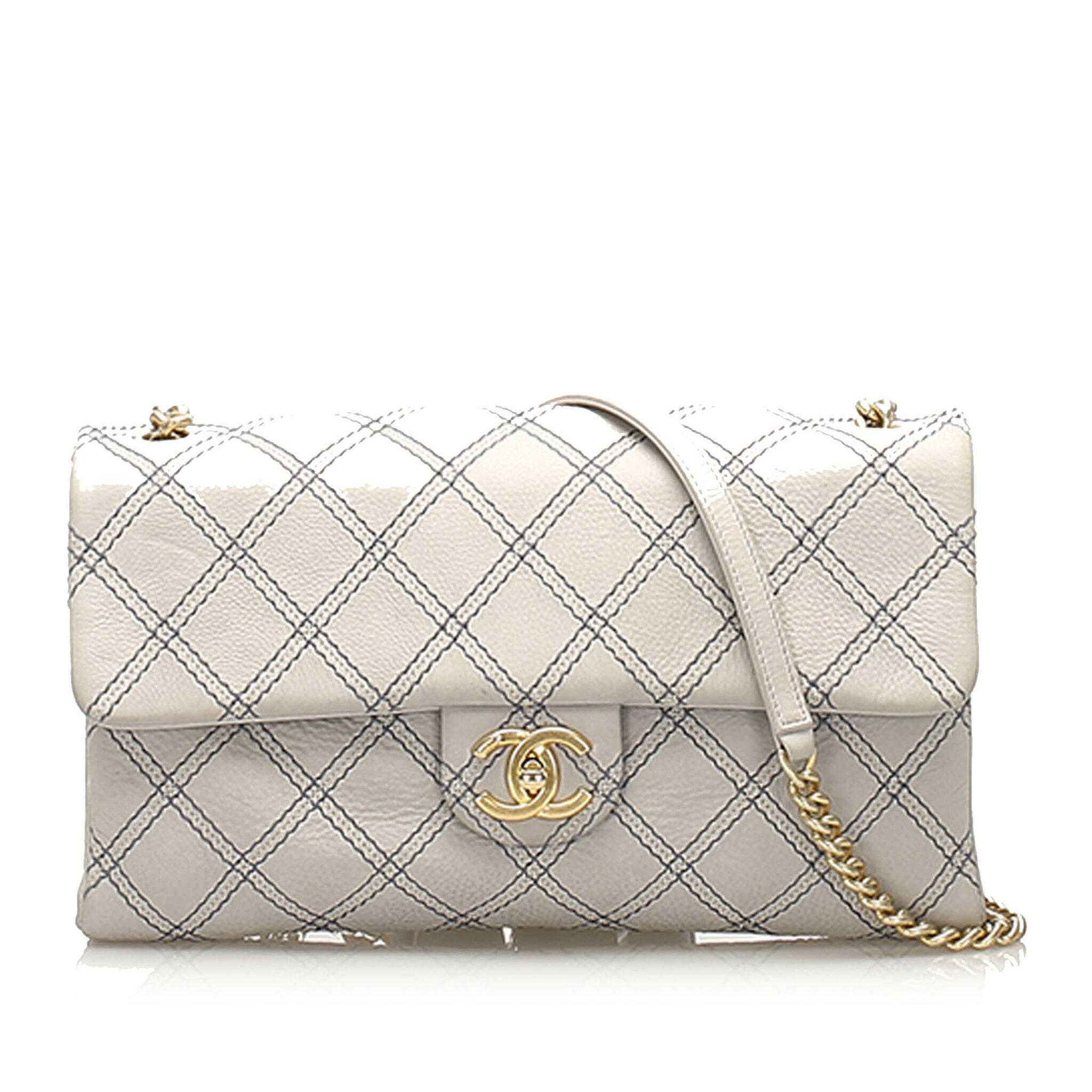Chanel Cc Turnlock Timeless Lambskin Leather Flap