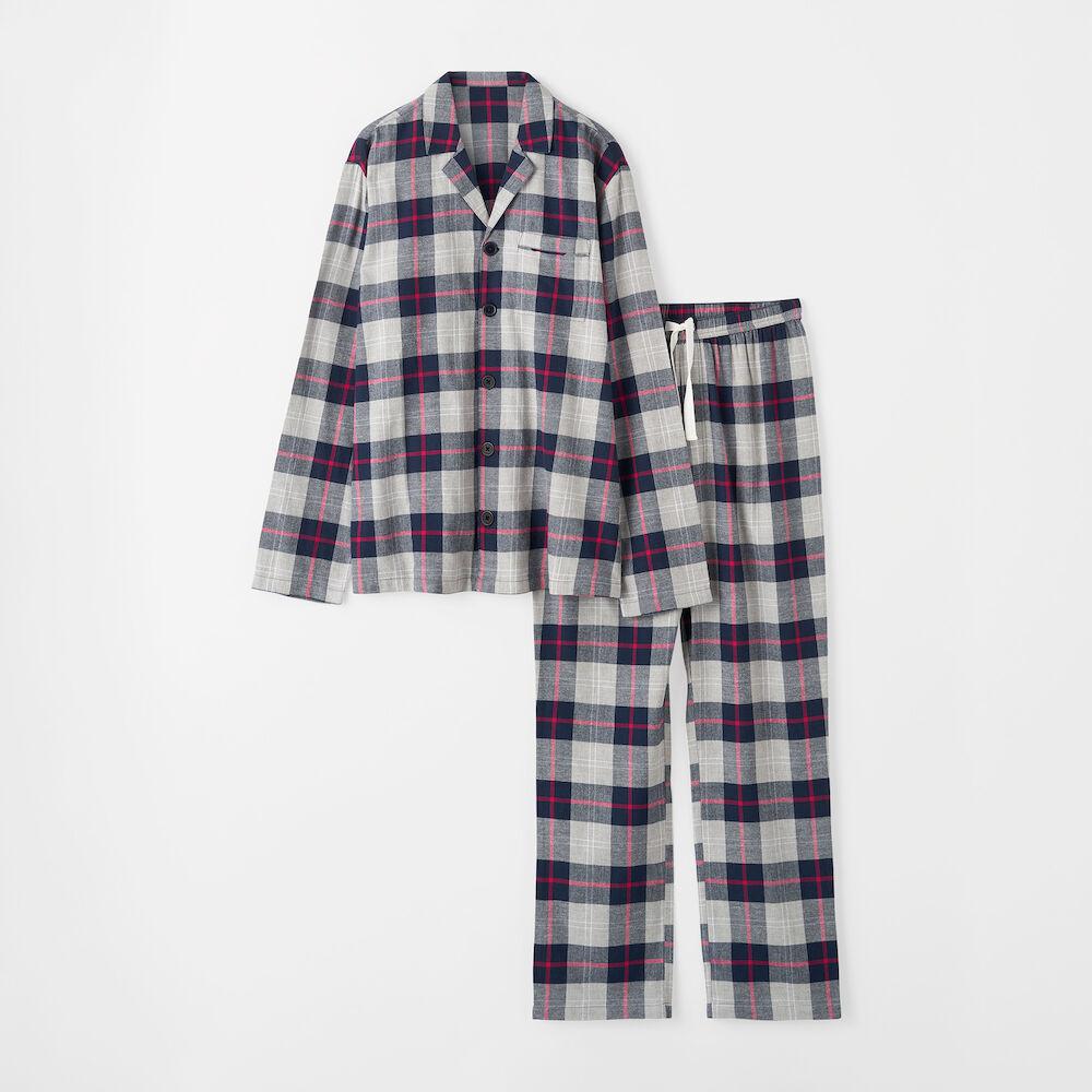 rutig pyjamas herr