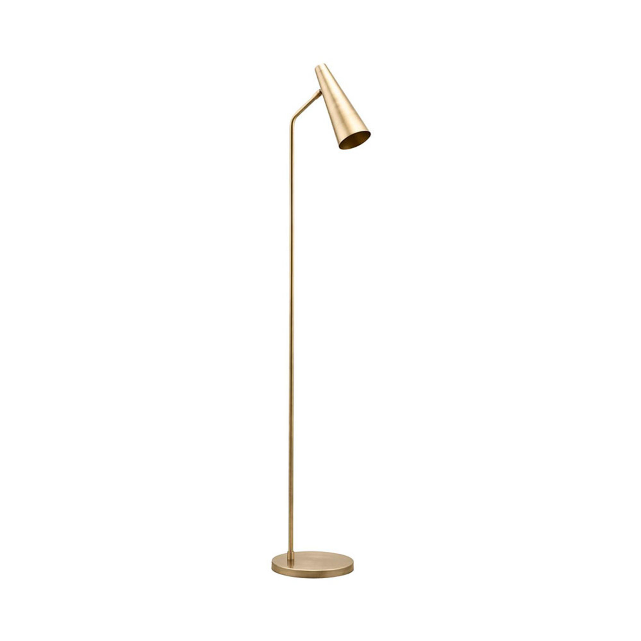 Golvlampa, Precise, 124 cm, mässing