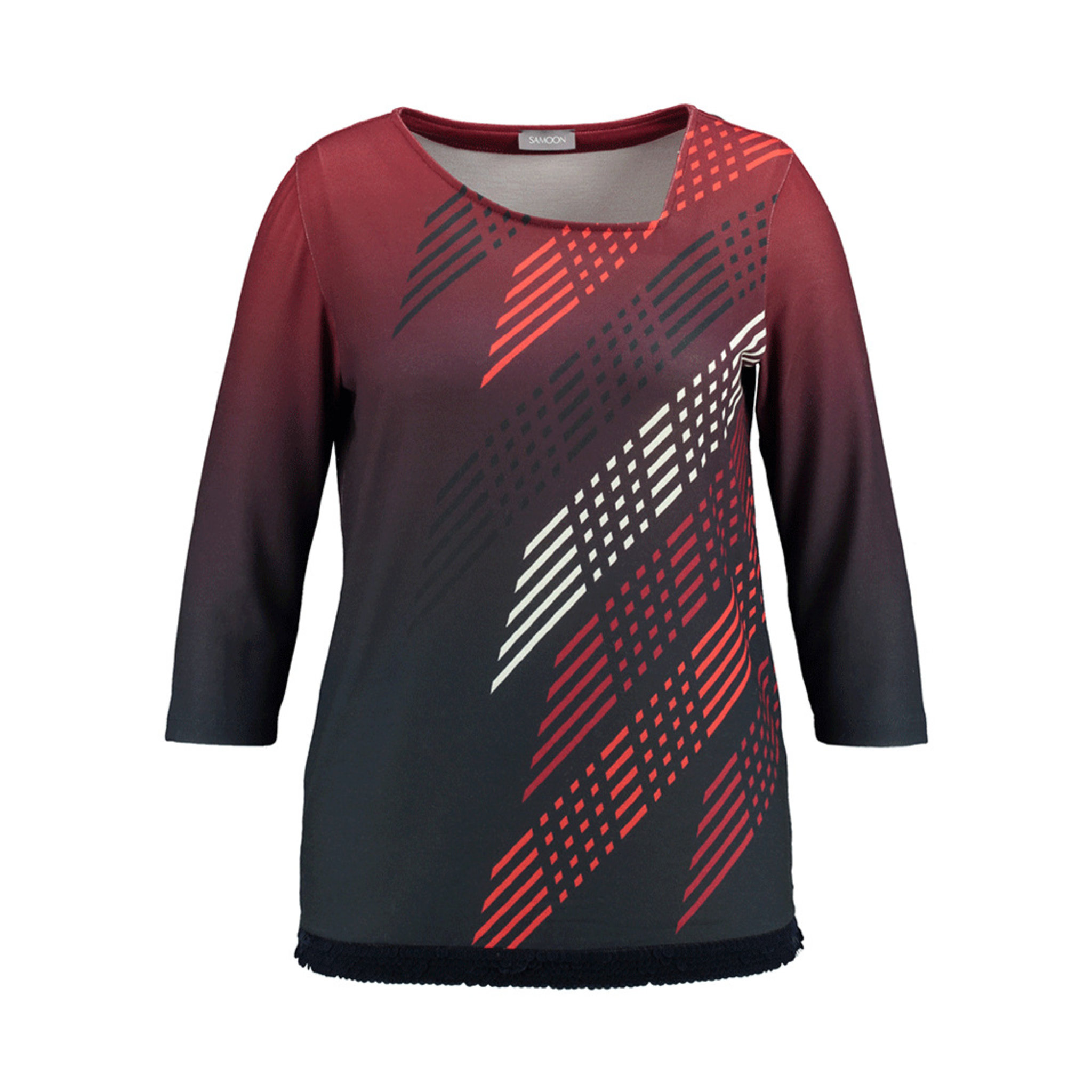 4d33fa7a T-shirt med 3/4 lång ärm - T-shirts & toppar - Köp online på åhlens.se!