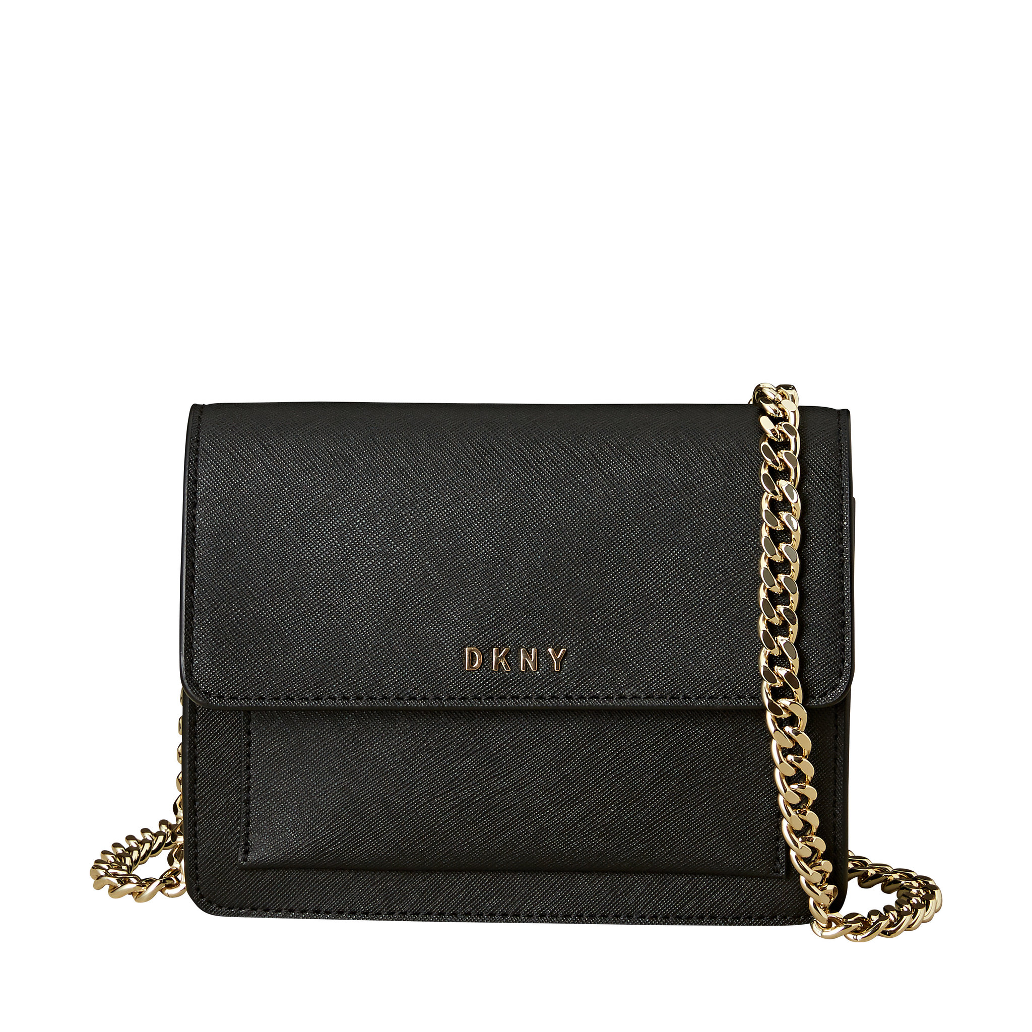 Bryant Park Mini Flap Crossbody, svart