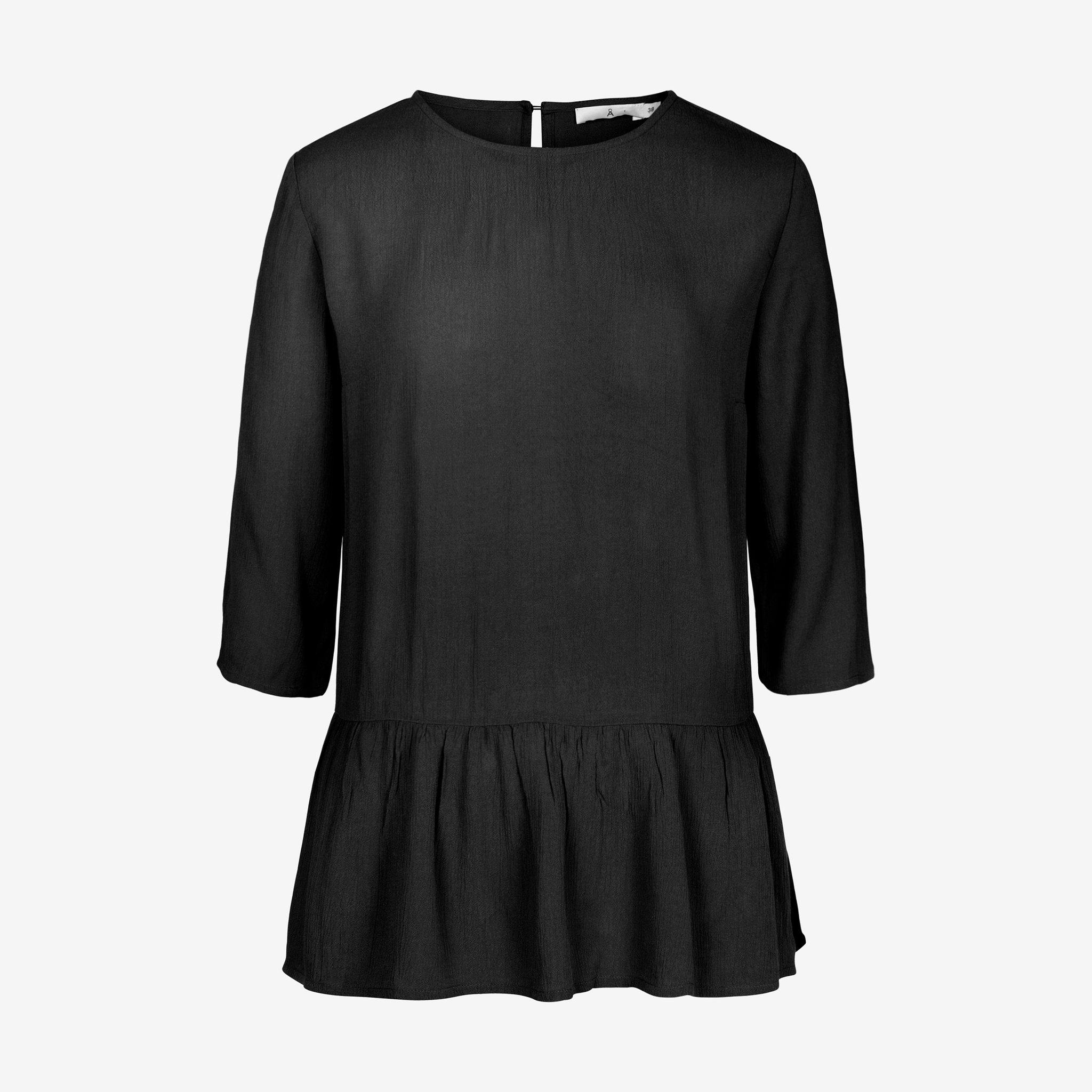 Blus med volang - Blusar   skjortor - Köp online på åhlens.se! 6f7fc41db1089