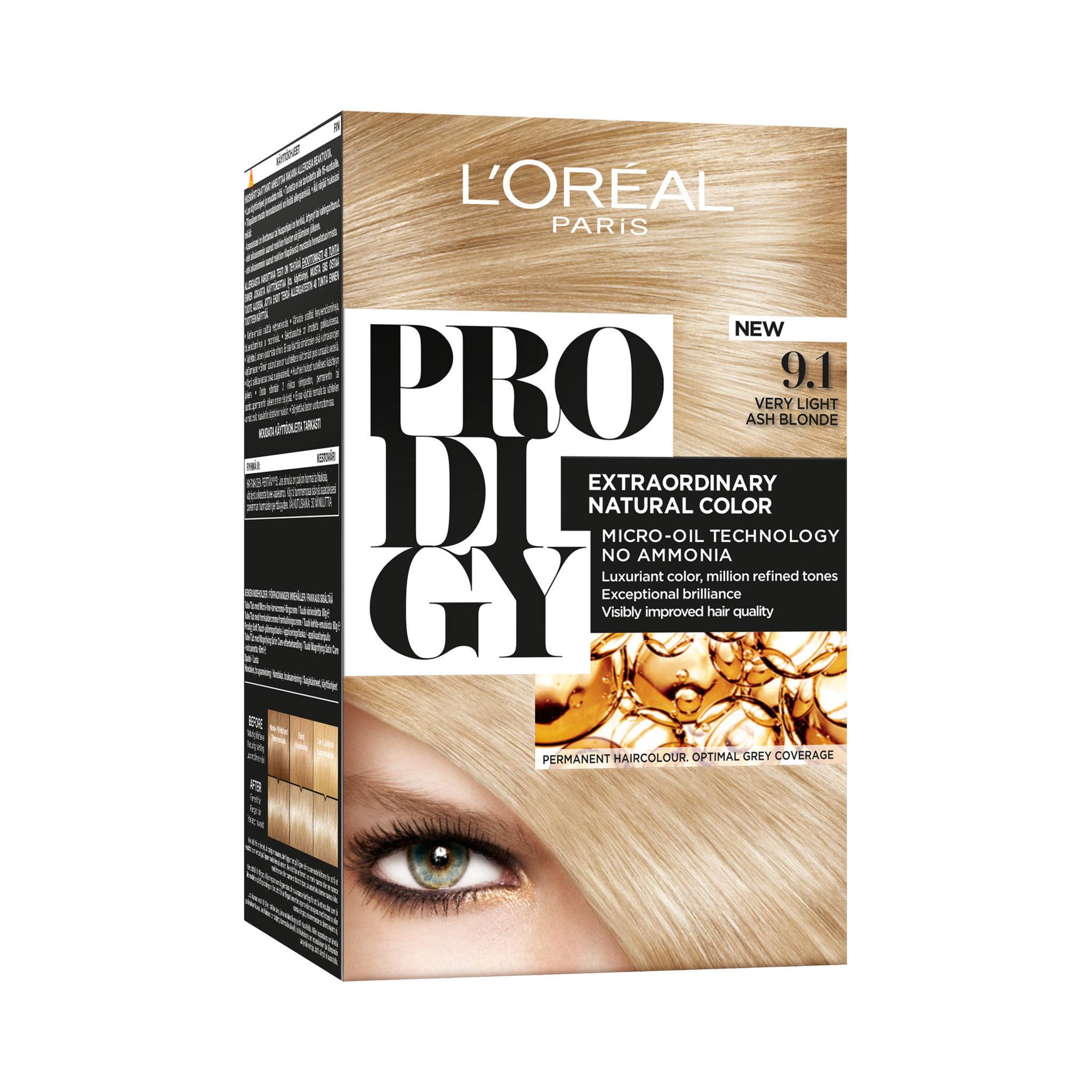 loreal prodigy hårfärg