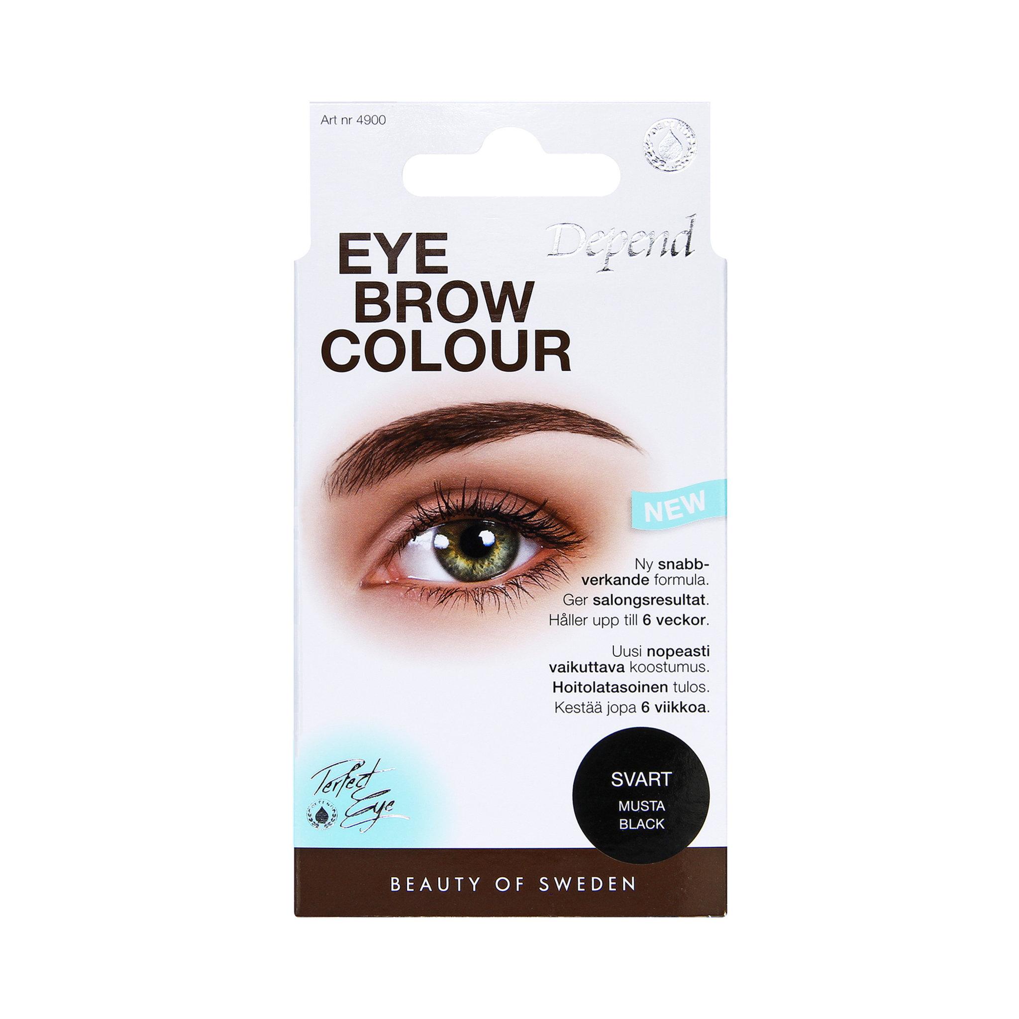 depend ögonbrynsfärg refill