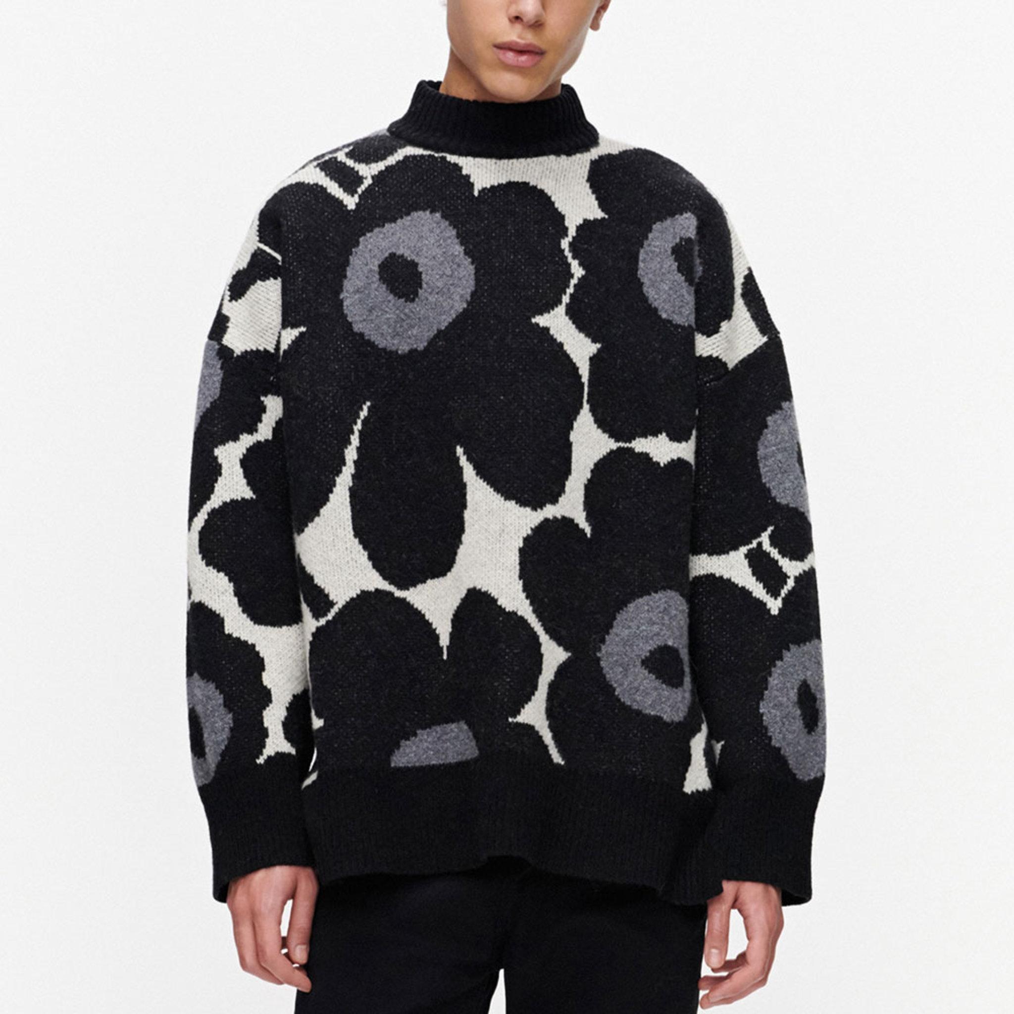 Onnekas Unikko Sweater, svart
