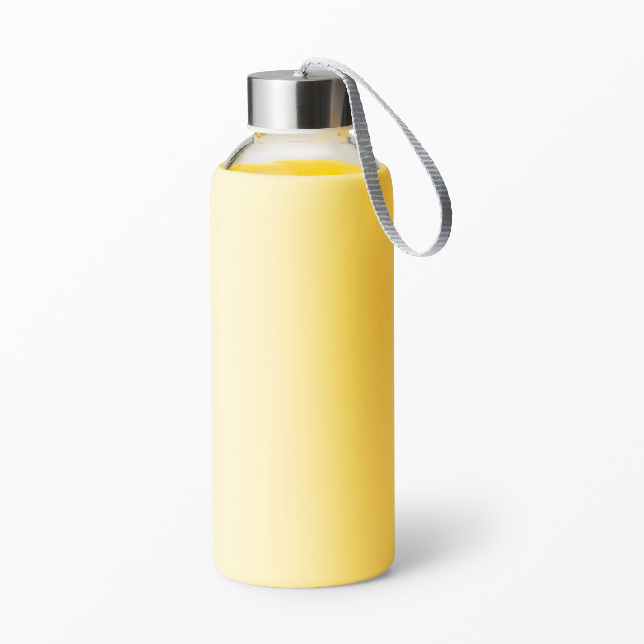 drickflaska i glas