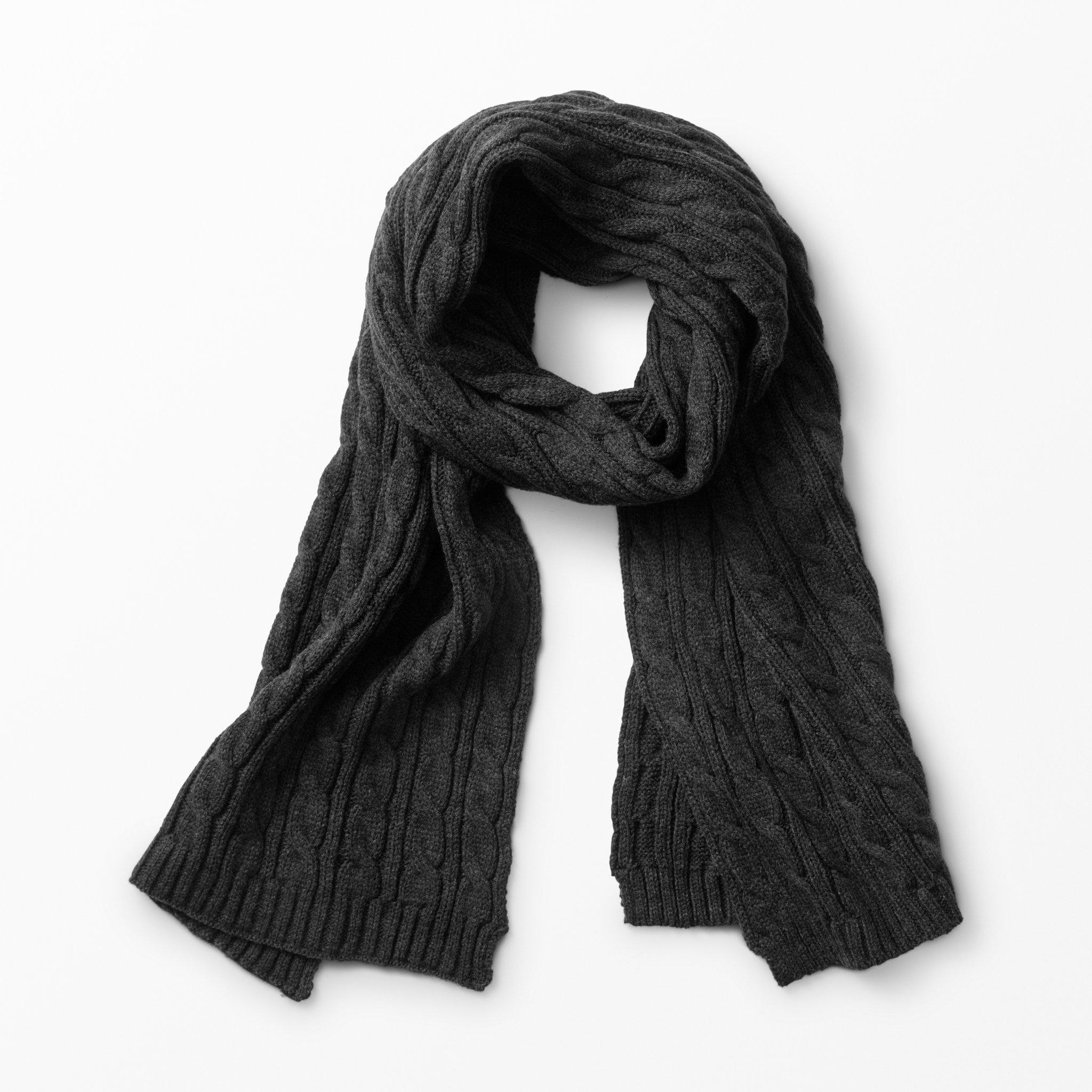 Halsduk kabelstickad - Halsdukar   scarves - Köp online på åhlens.se! cefb4578afab8