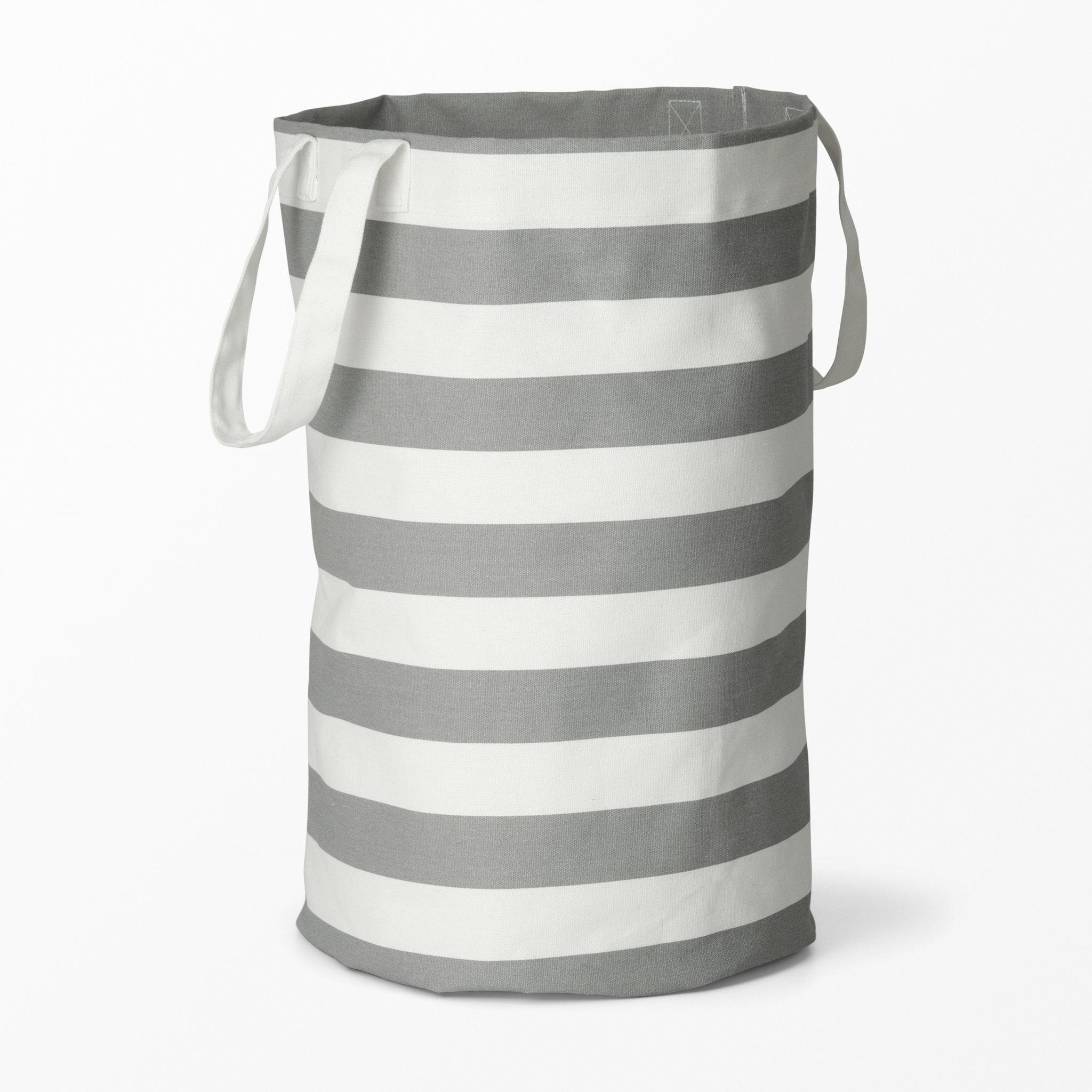 Tvättkorg i textil   badrumsaccessoarer  köp online på åhlens.se!